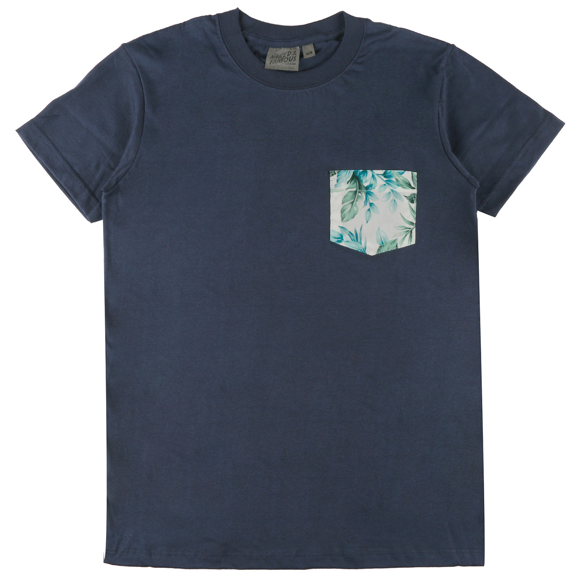 NAVY + BIG TROPICAL - Pocket Tee