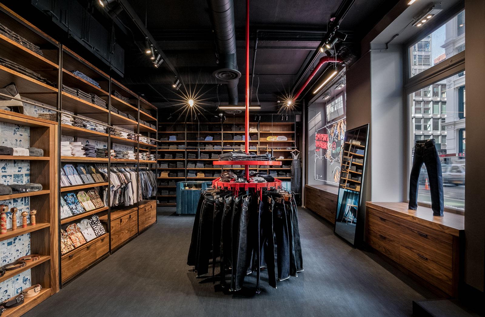 Naked & Famous Denim NYC Flagship Store | Naked & Famous Denim