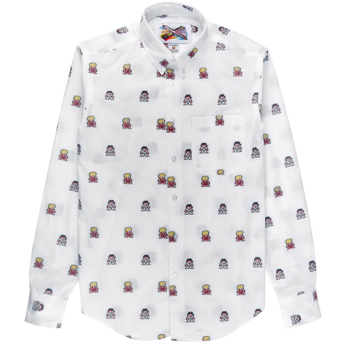 Ryu + Ken Jacquard Shirt -