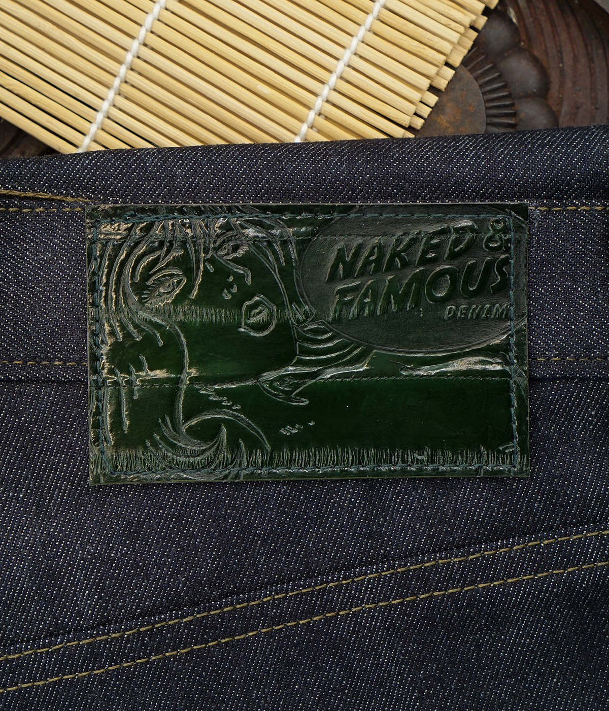 Eel Skin Leather Patch!