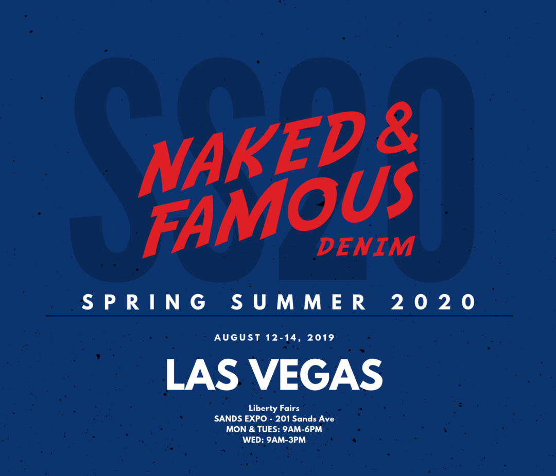spring summer 2020 vegas tradeshow flyer