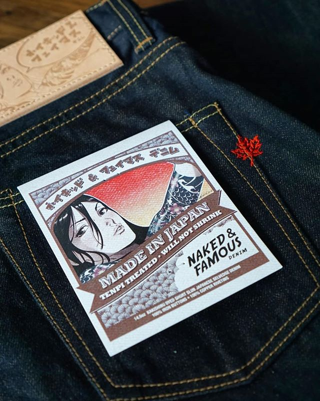 The Made In Japan 5 will be released this Friday June 21st at select Naked & Famous Denim retailers worldwide. Find a complete list of of retailers on our website, check the link in our bio. #nakedandfamousdenim #rawdenim #selvedge #selvedgedenim #drydenim #vintagedenim #madeinjapan