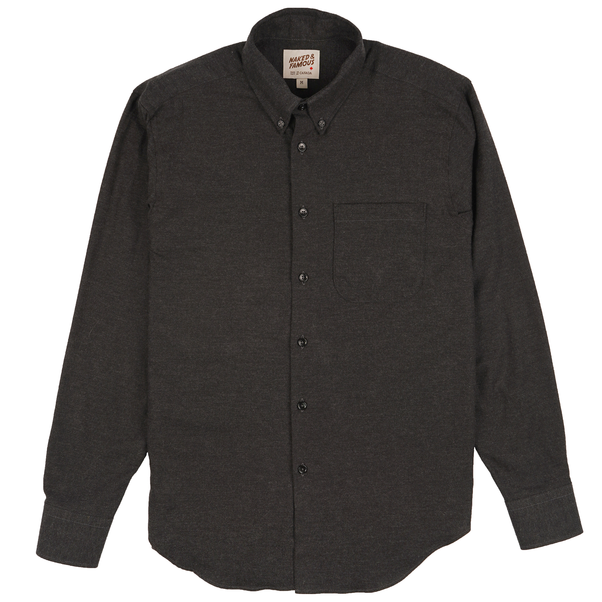 CLassic Flannel - Charcoal - Easy Shirt