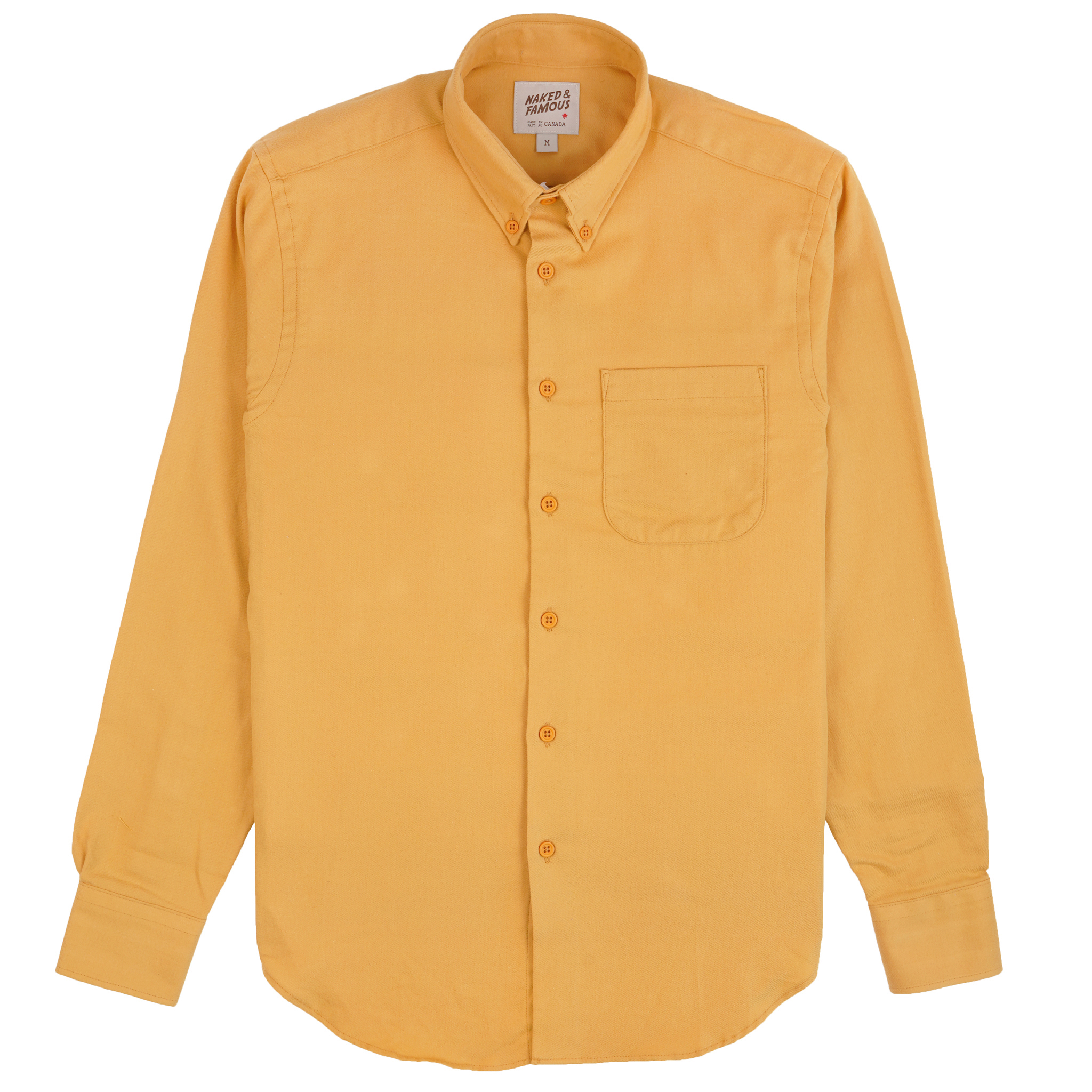 CLassic Flannel - Honey - Easy Shirt