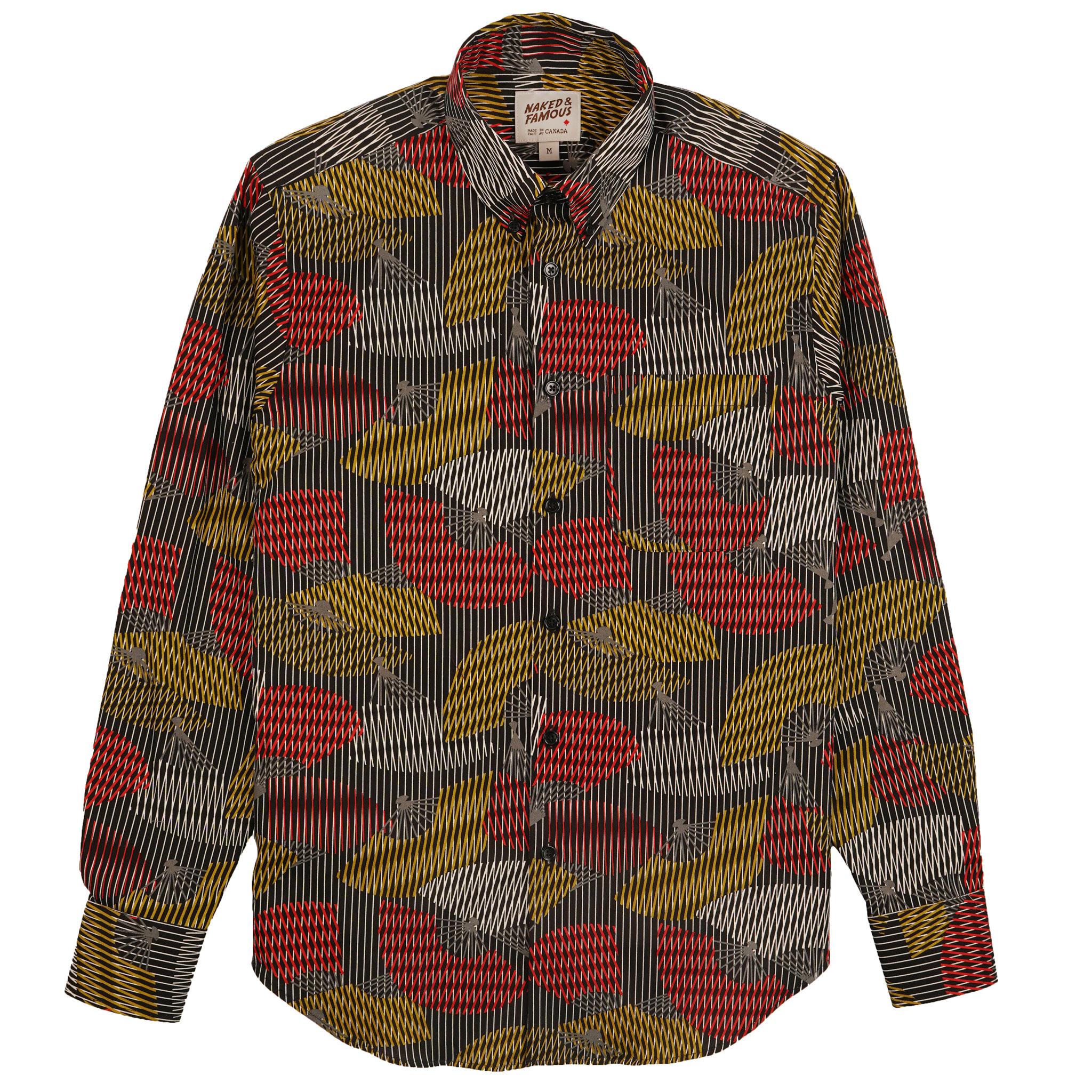 Japanese Sensu - Black - Easy Shirt