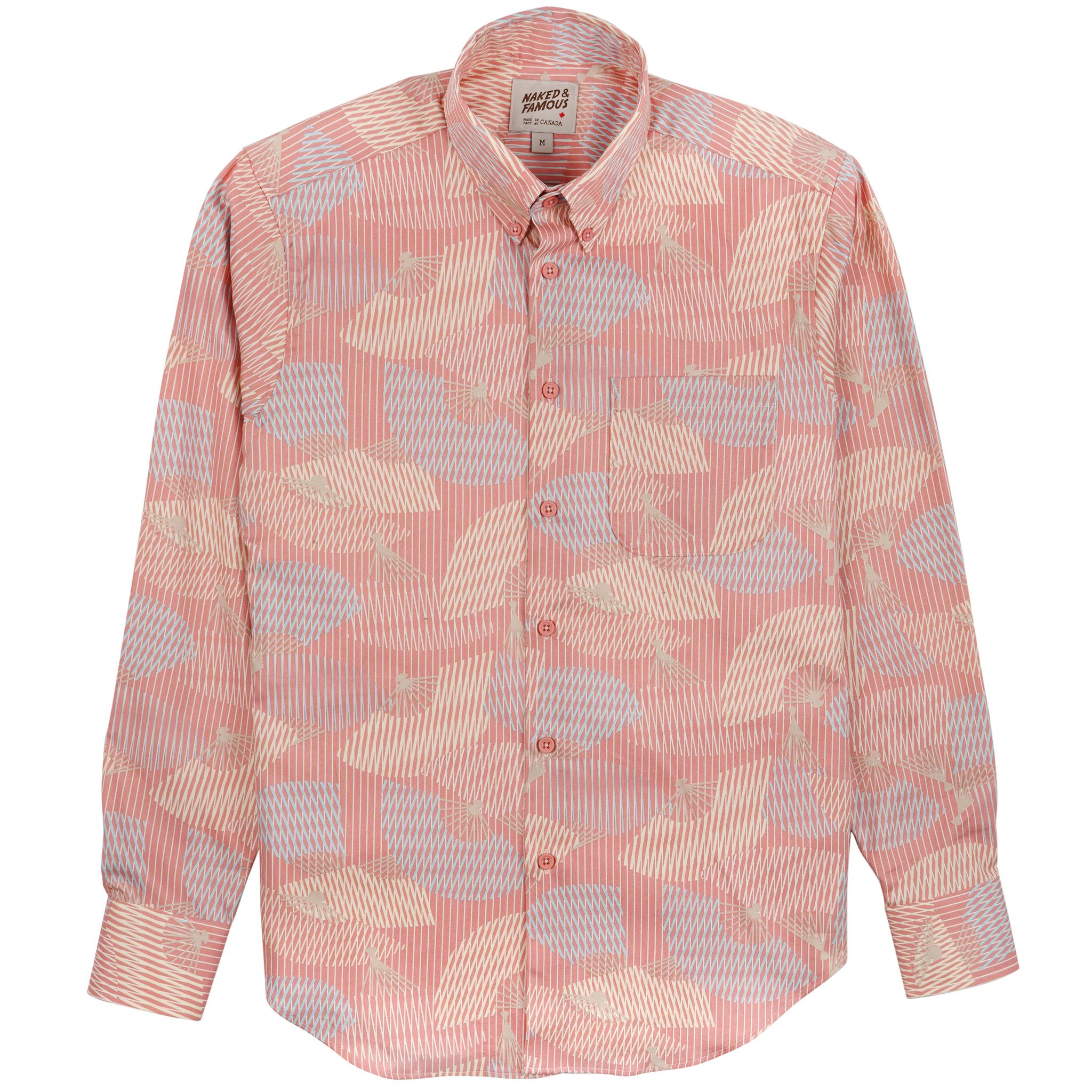 Japanese Sensu - Pink - Easy Shirt