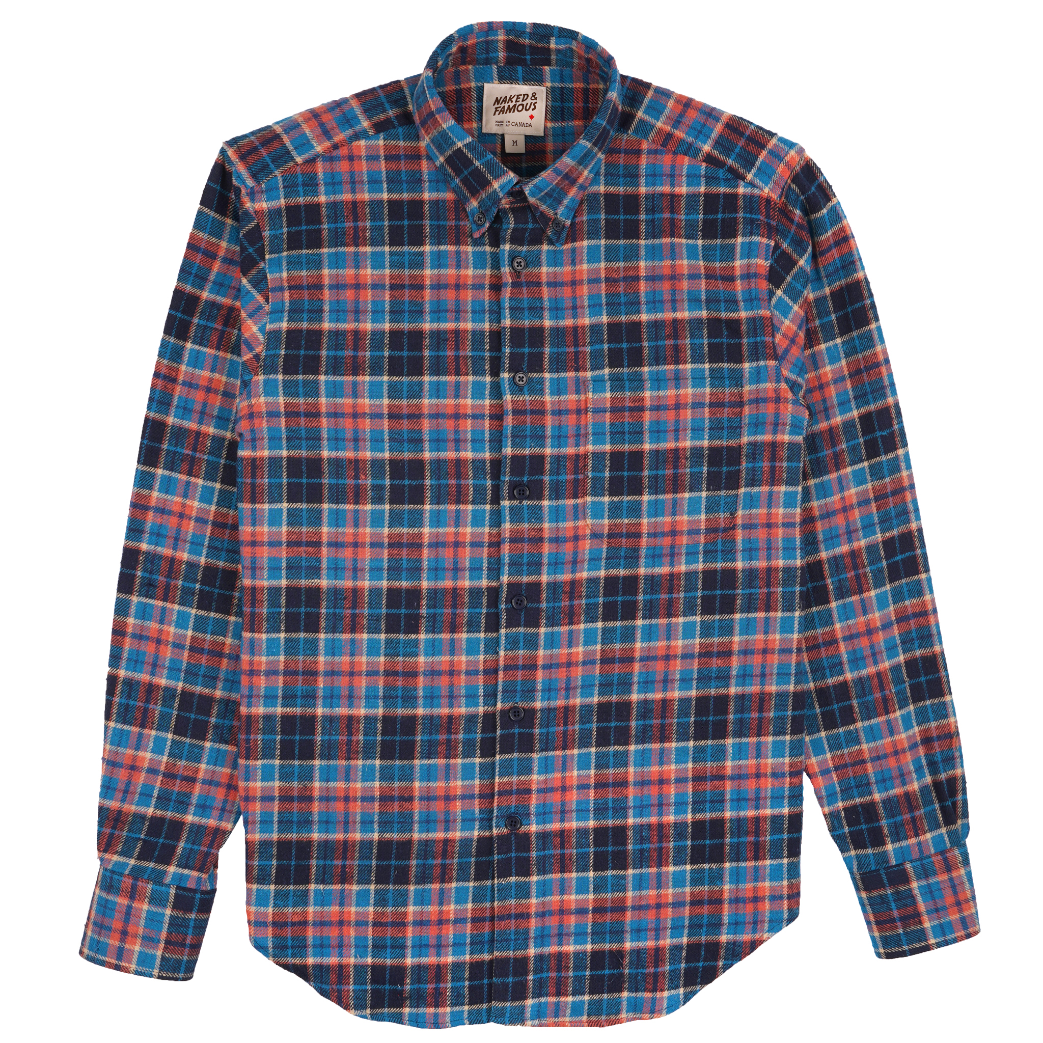 Rustic Nep Flannel - Blue - Easy Shirt