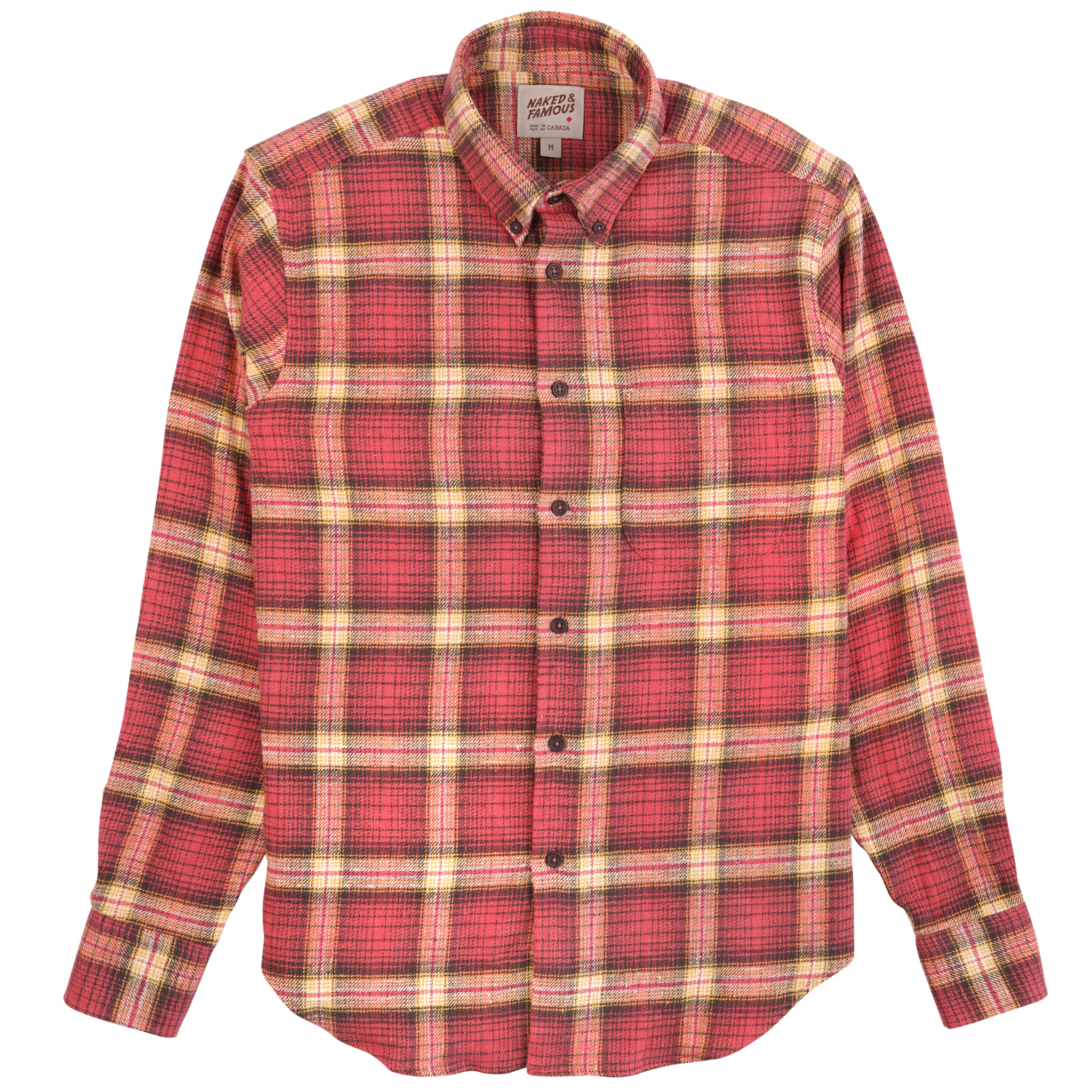 Rustic Nep Flannel - Pink - Easy Shirt