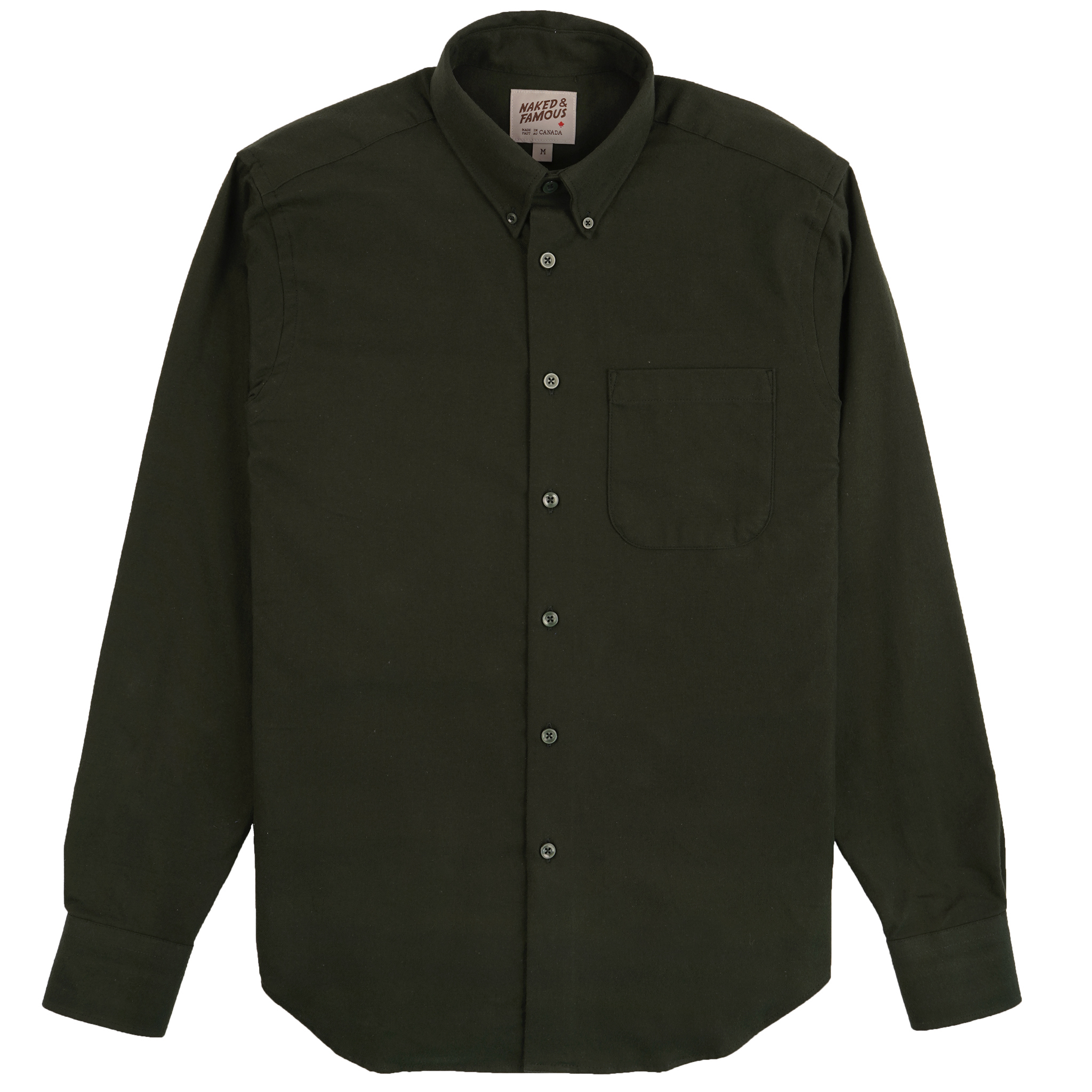 Solid Flannel - Forest - Easy Shirt