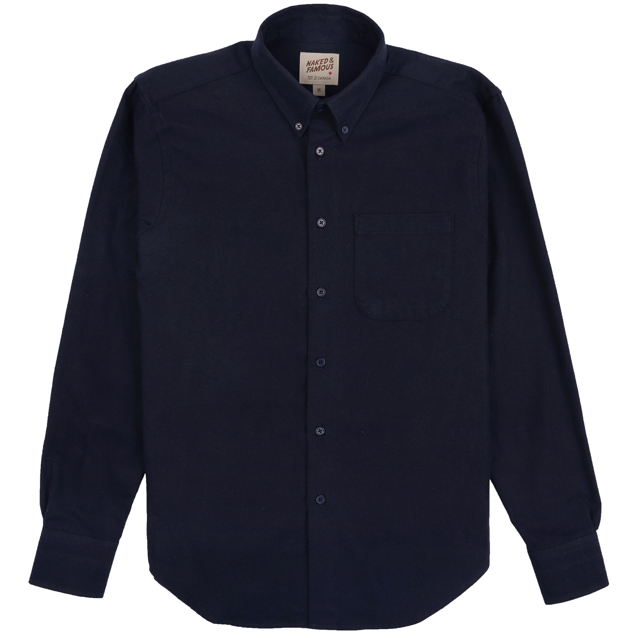 Solid Flannel - Navy - Easy Shirt