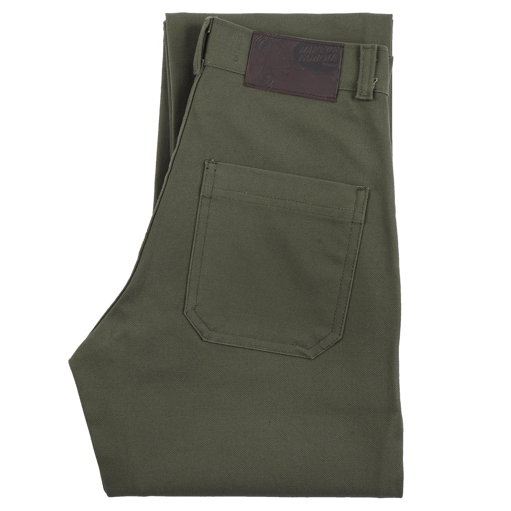 Green Canvas - Fatigue Pant