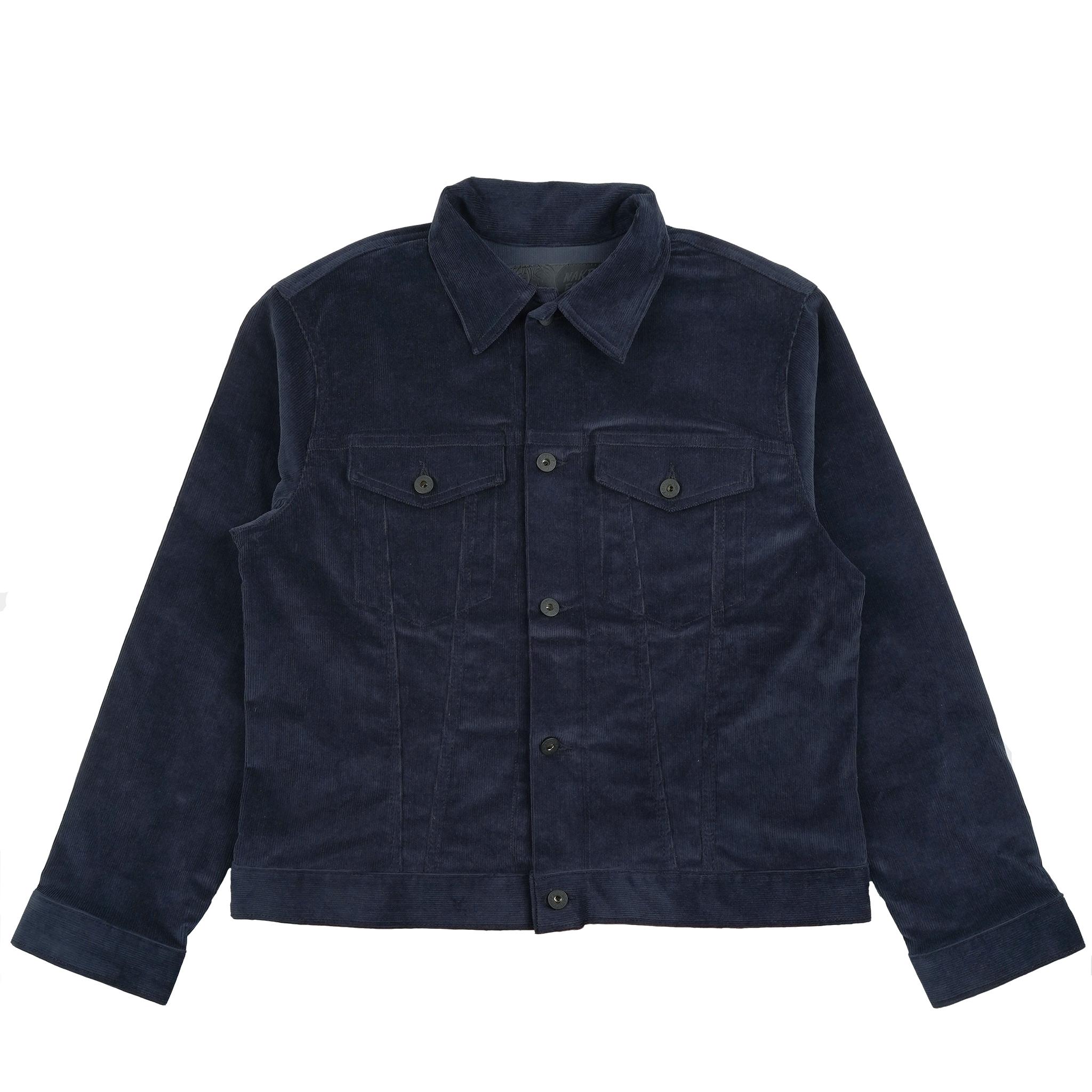 Indigo Corduroy - Denim Jacket