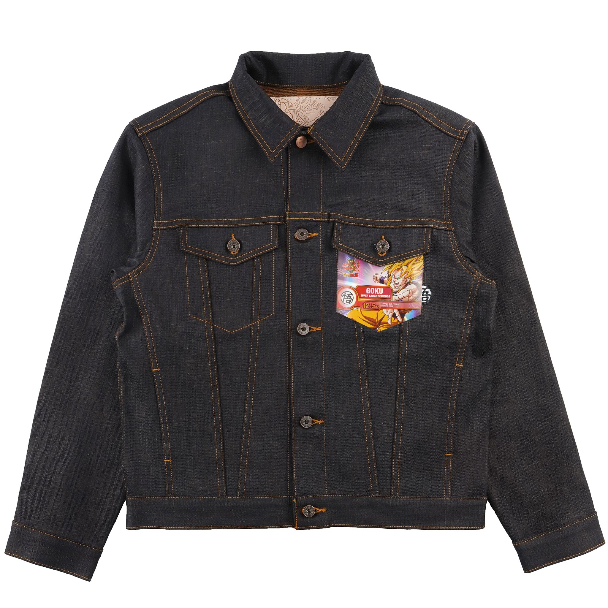 Goku Super Saiyan Slevedge - Denim Jacket