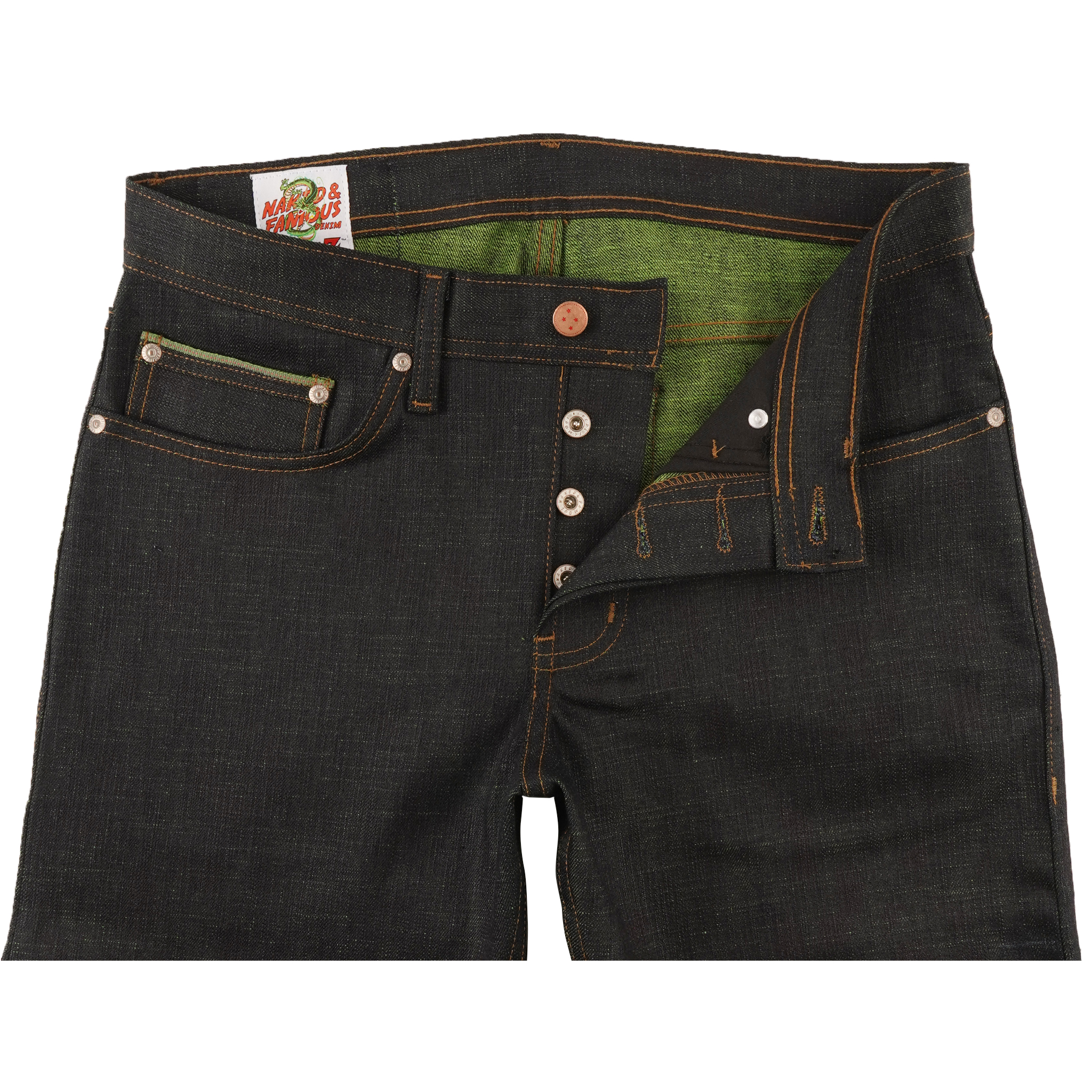 Cell Perfect Selvedge Jean Front View