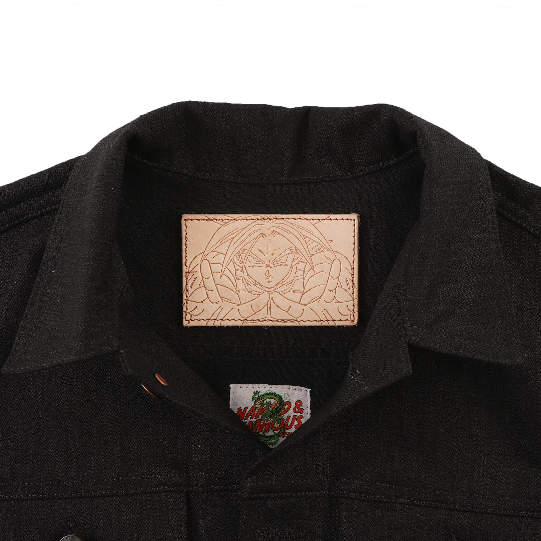 Trunks Future Selvedge Denim Jacket patch