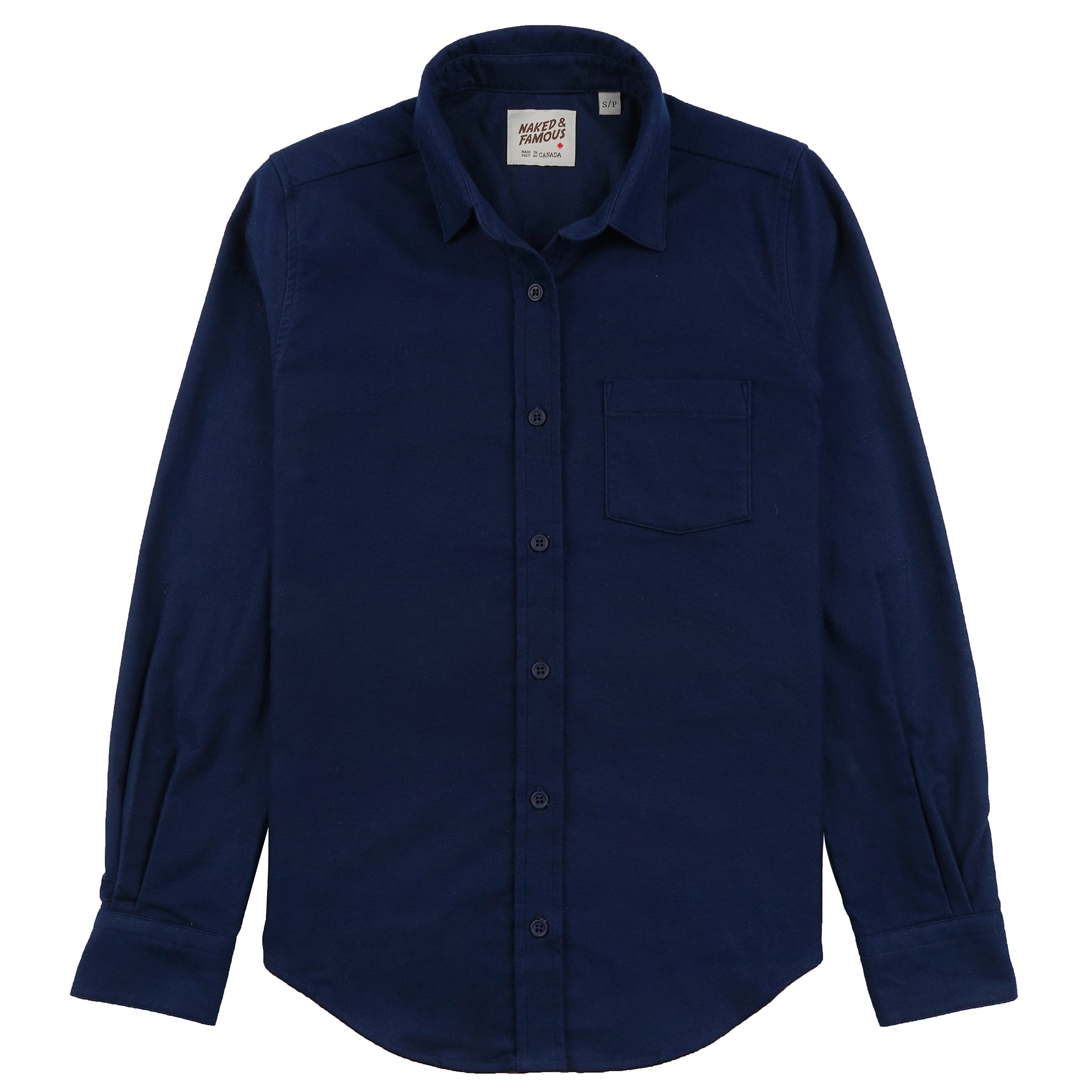 Natural Indigo Dyed Flannel - Country Shirt