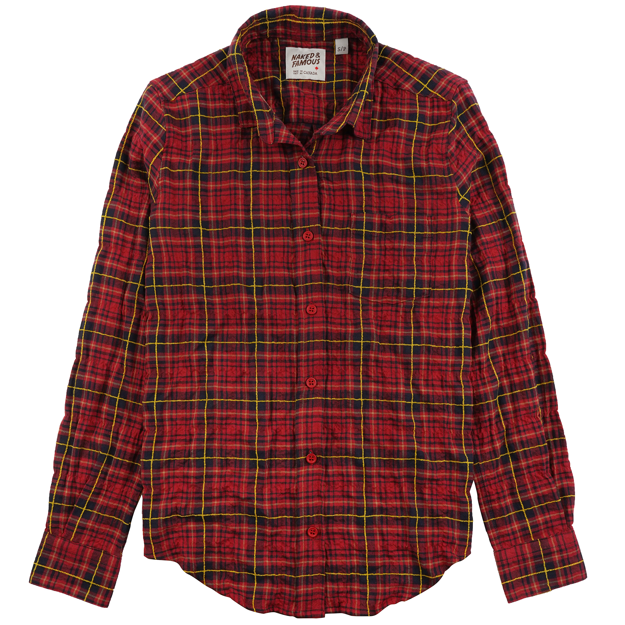 Folk Flannel - Red/Yellow - Country Shirt
