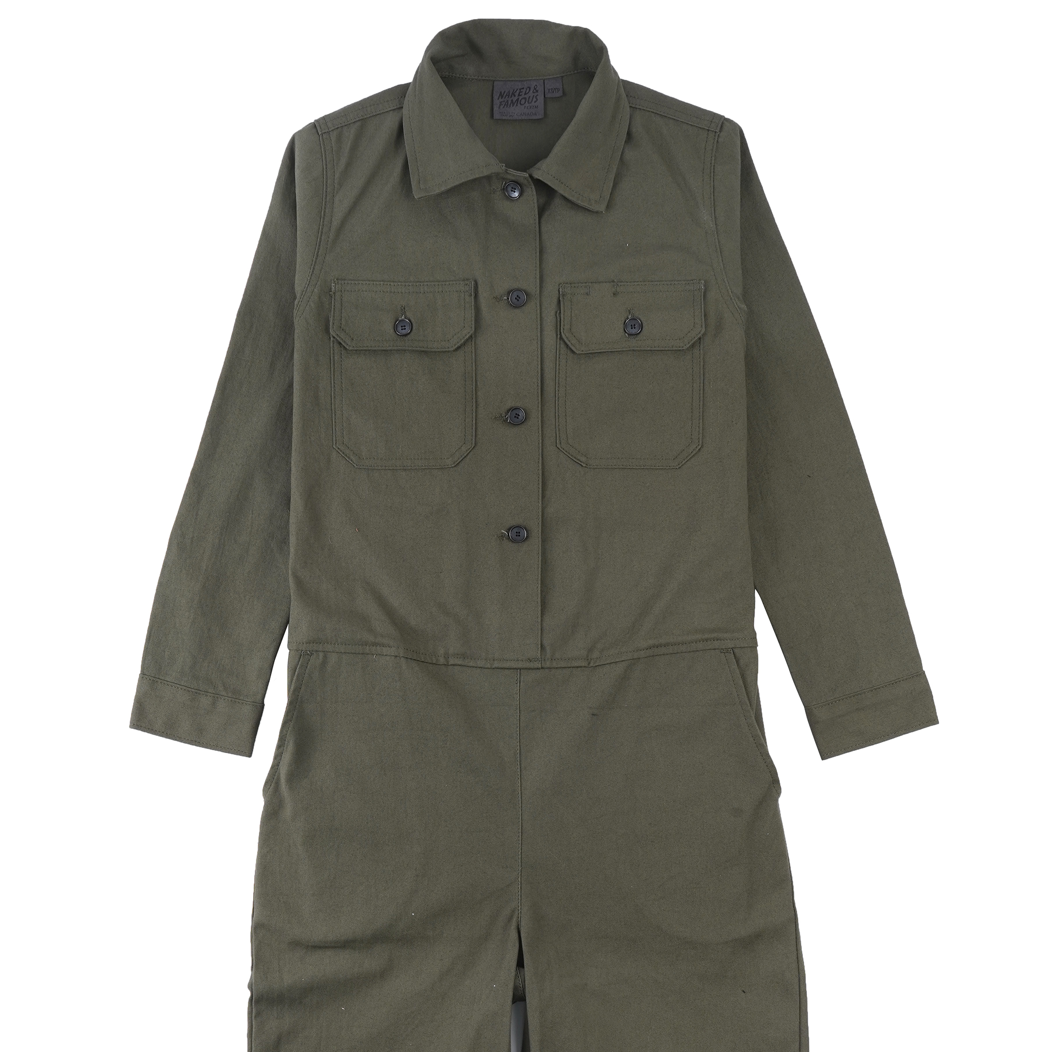 Green Canvas - Coverall