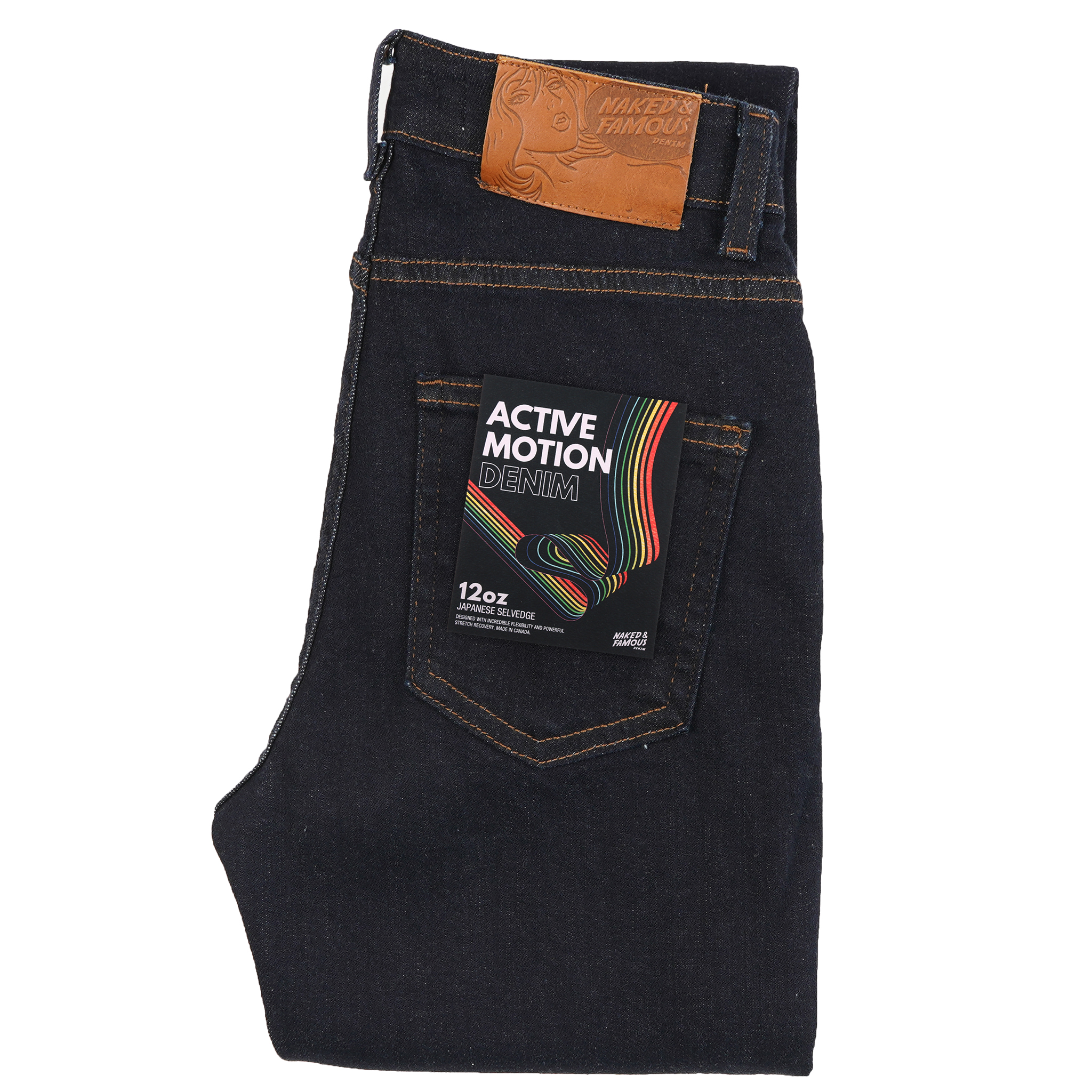 Active Motion Denim - High Skinny / Max