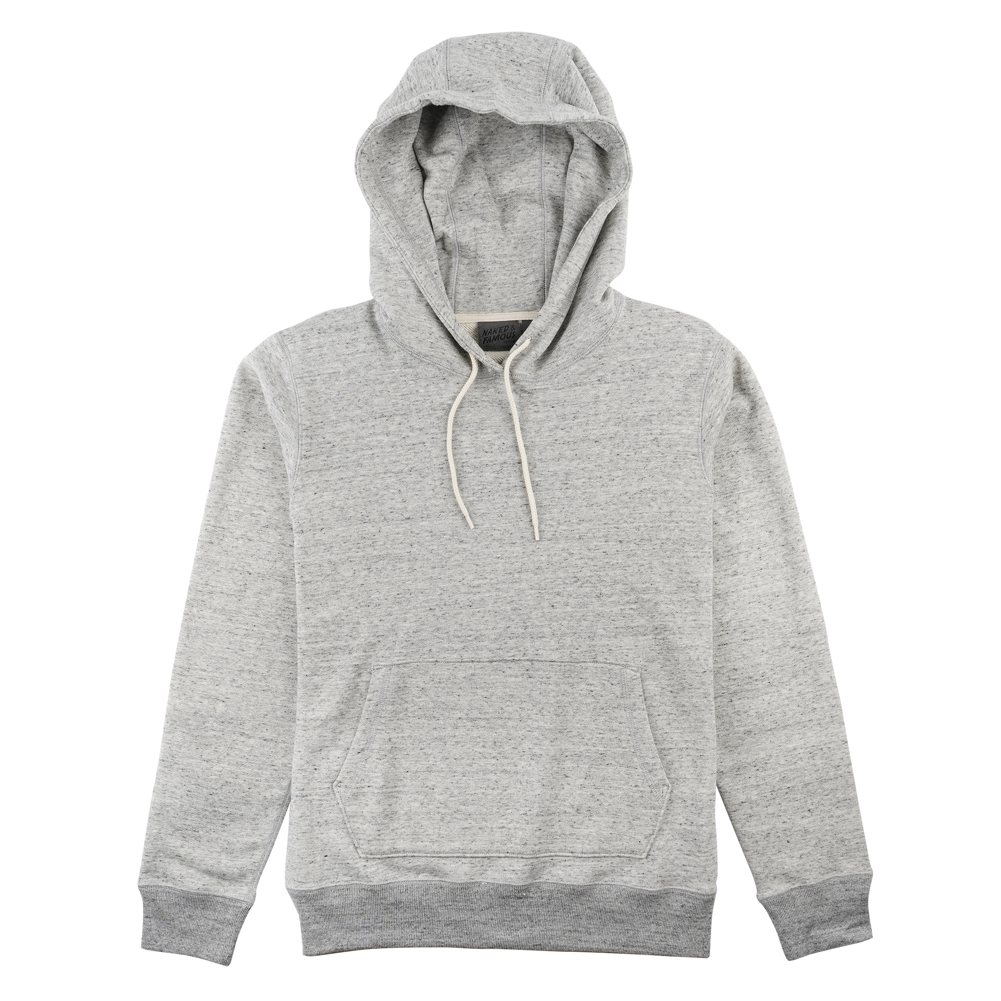 Heavyweight Terry - Grey - Pullover Hoodie