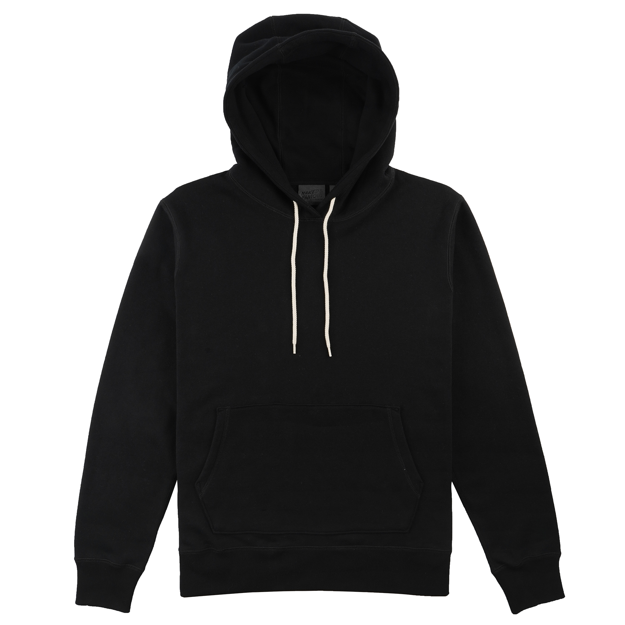 Heavyweight Terry - Black - Pullover Hoodie