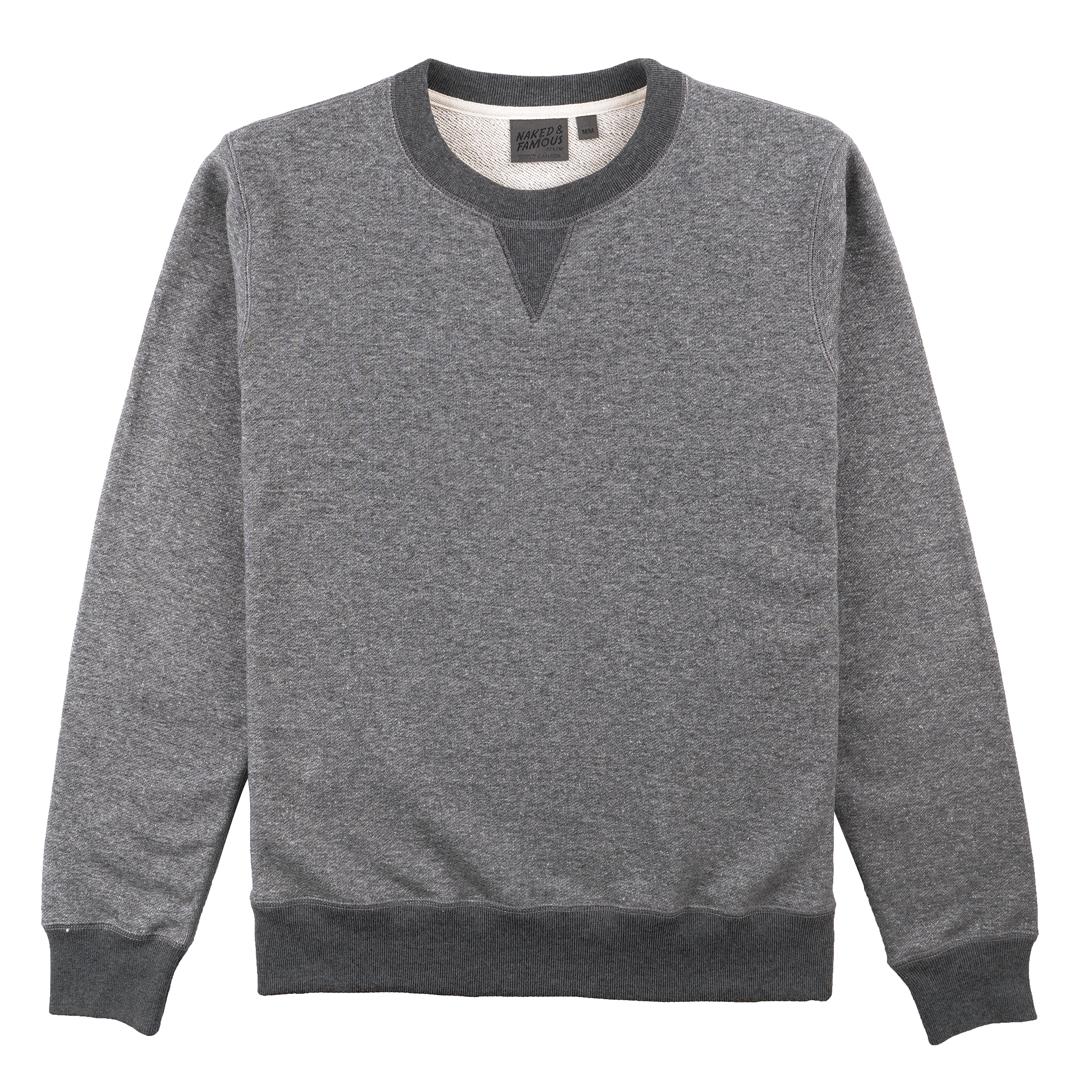 Heavyweight Terry - Charcoal - Crewneck