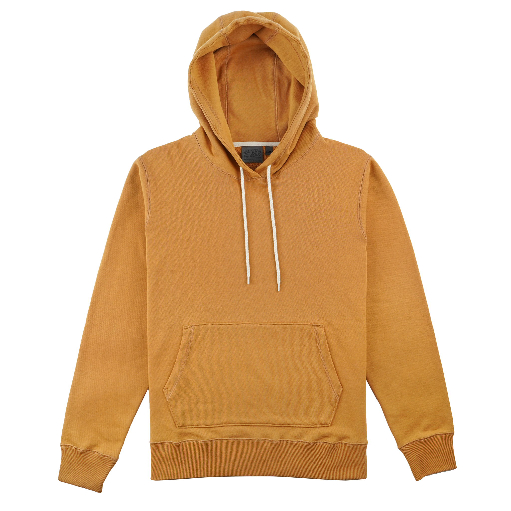 Heavyweight Terry - Amber - Pullover Hoodie