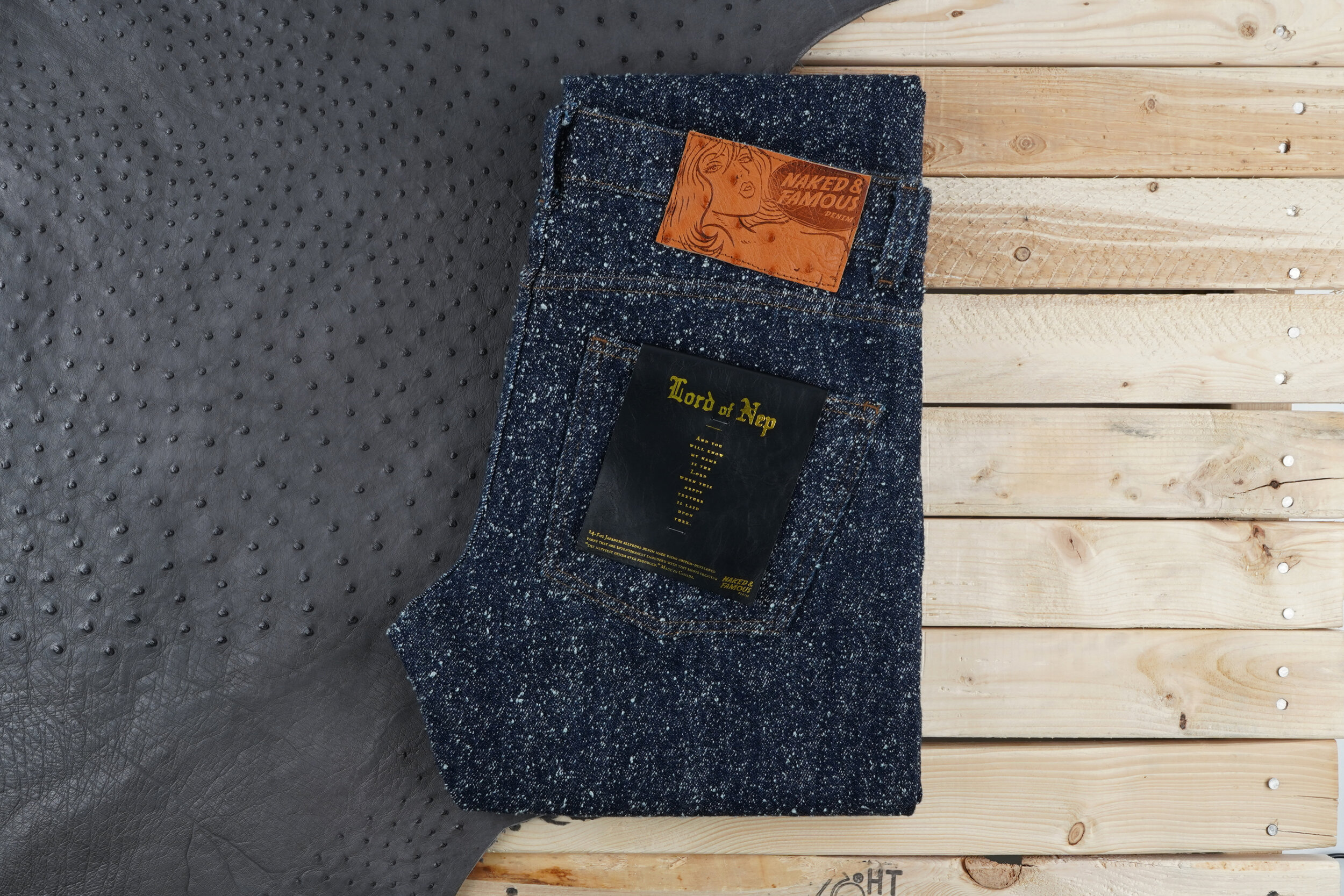 Lord of Nep Selvedge - Folded Flat