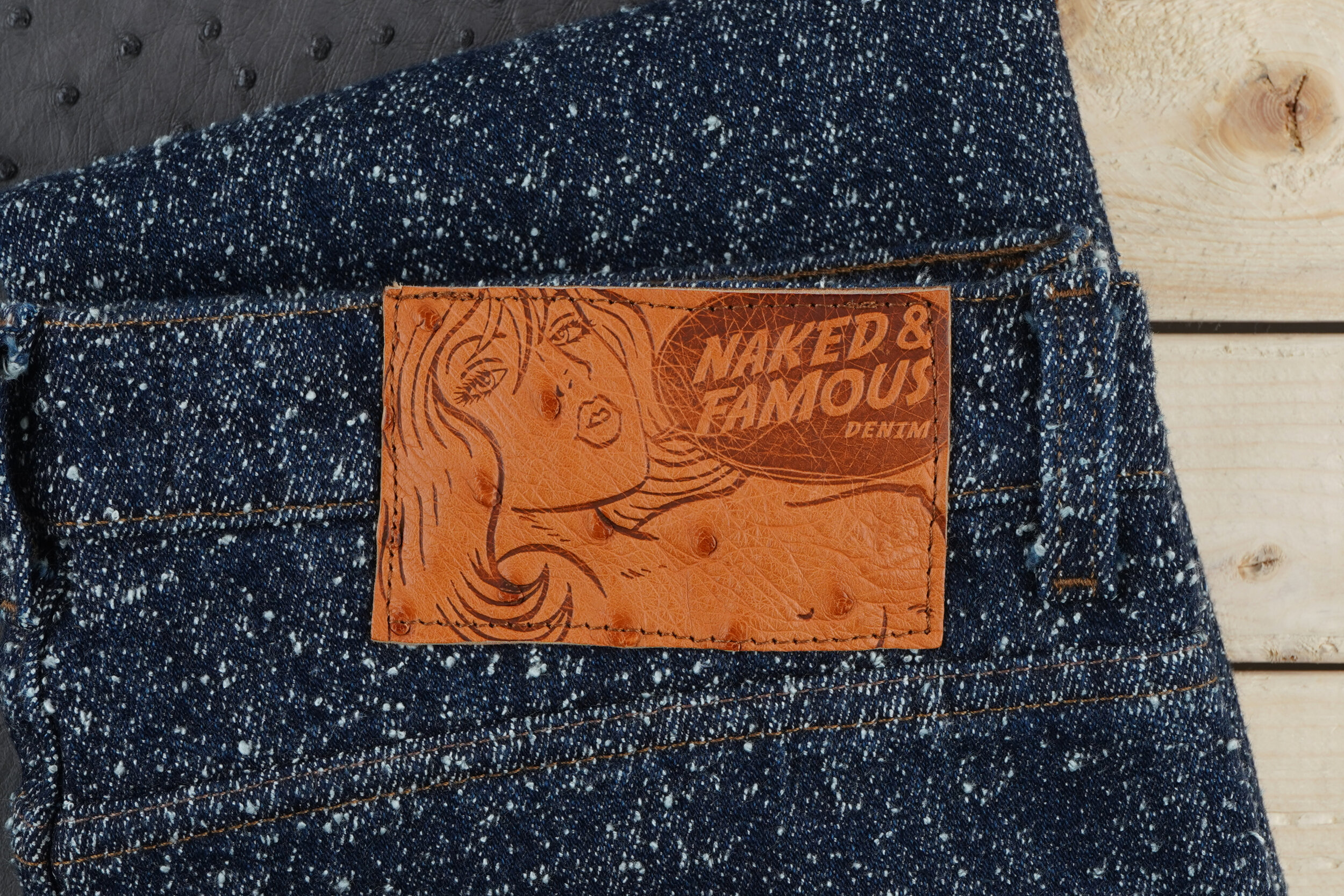 Lord of Nep Selvedge - Leather Patch