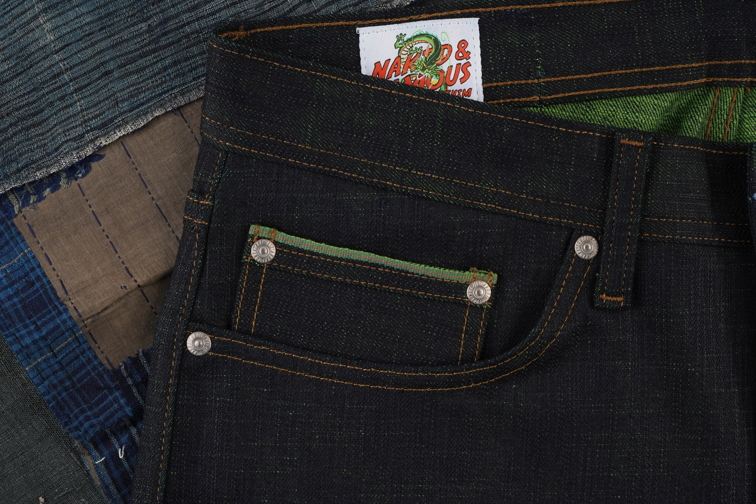 Cell Perfect Selvedge - Coin Pocket