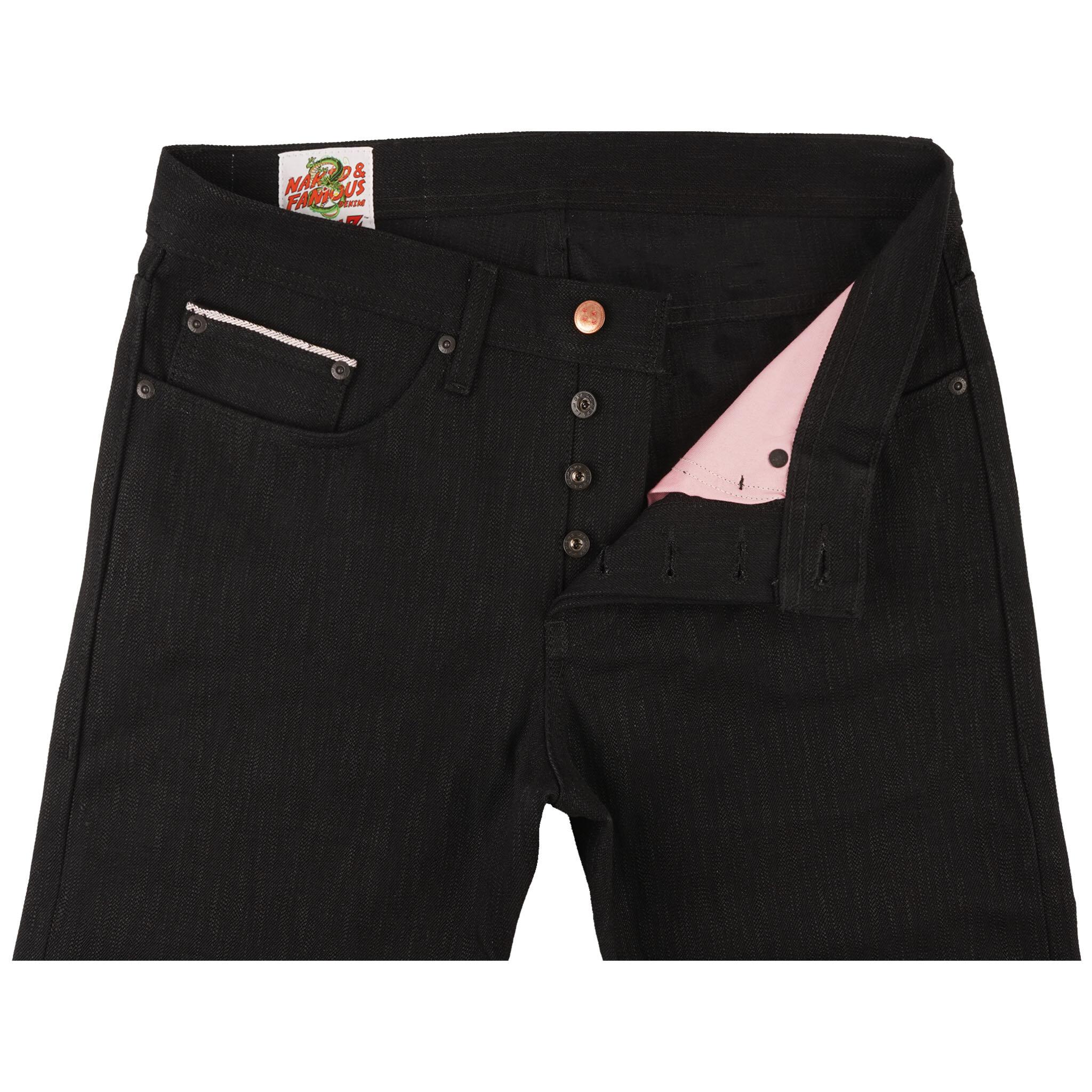 Majin Buu Innocent Selvedge jeans - front