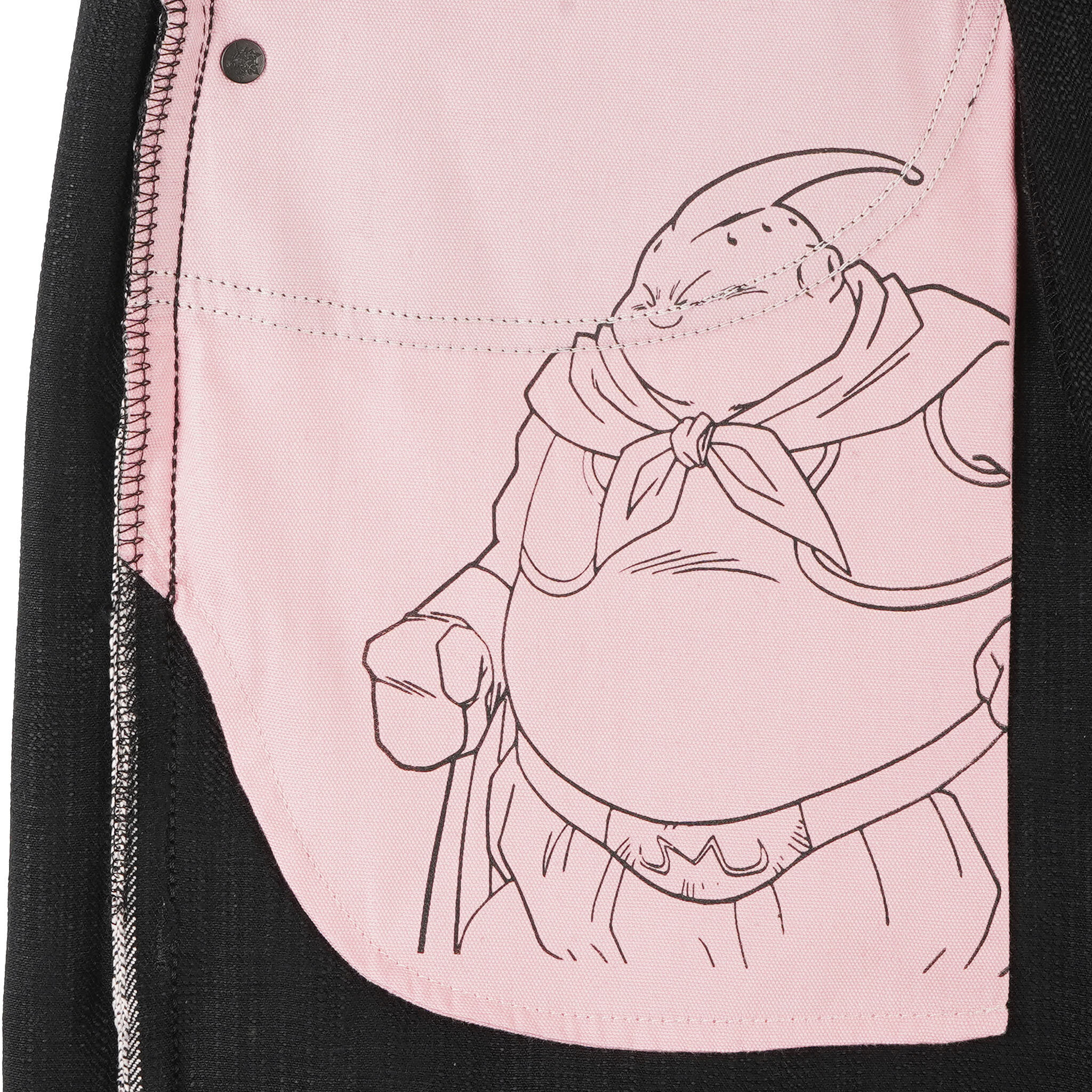 Majin Buu Innocent Selvedge jeans - pocket bag
