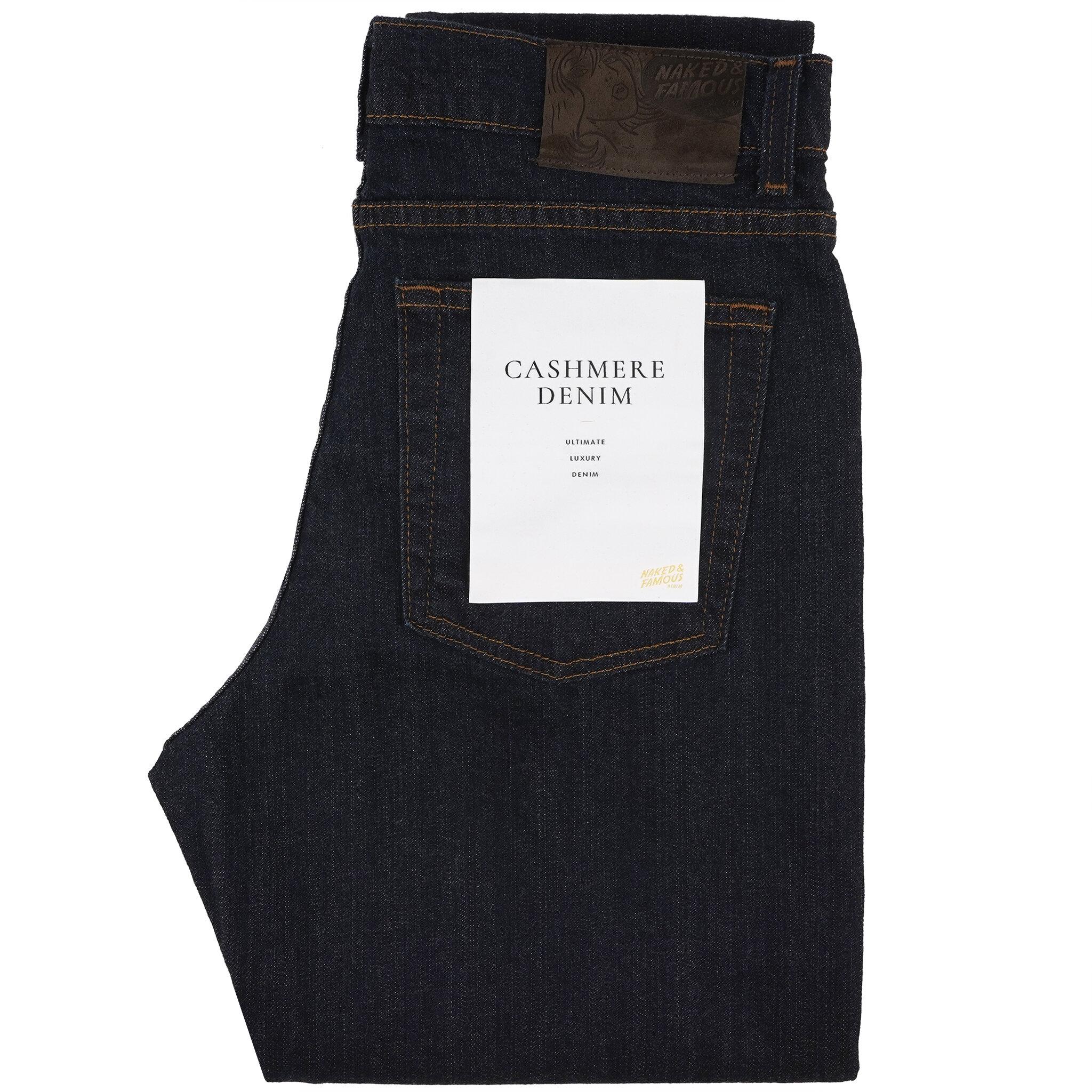 women's Cashmere Stretch Denim - folded
