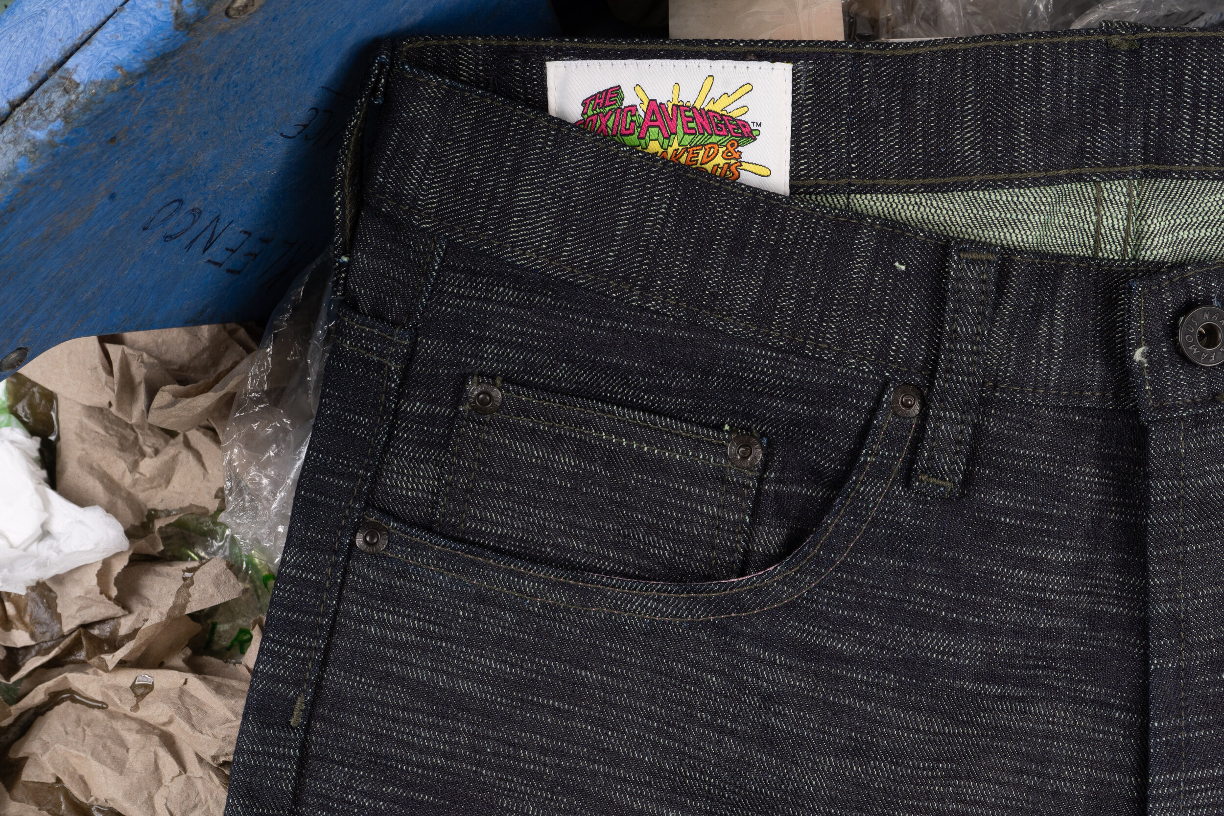 The Toxic Avenger Denim -  Coin Pocket