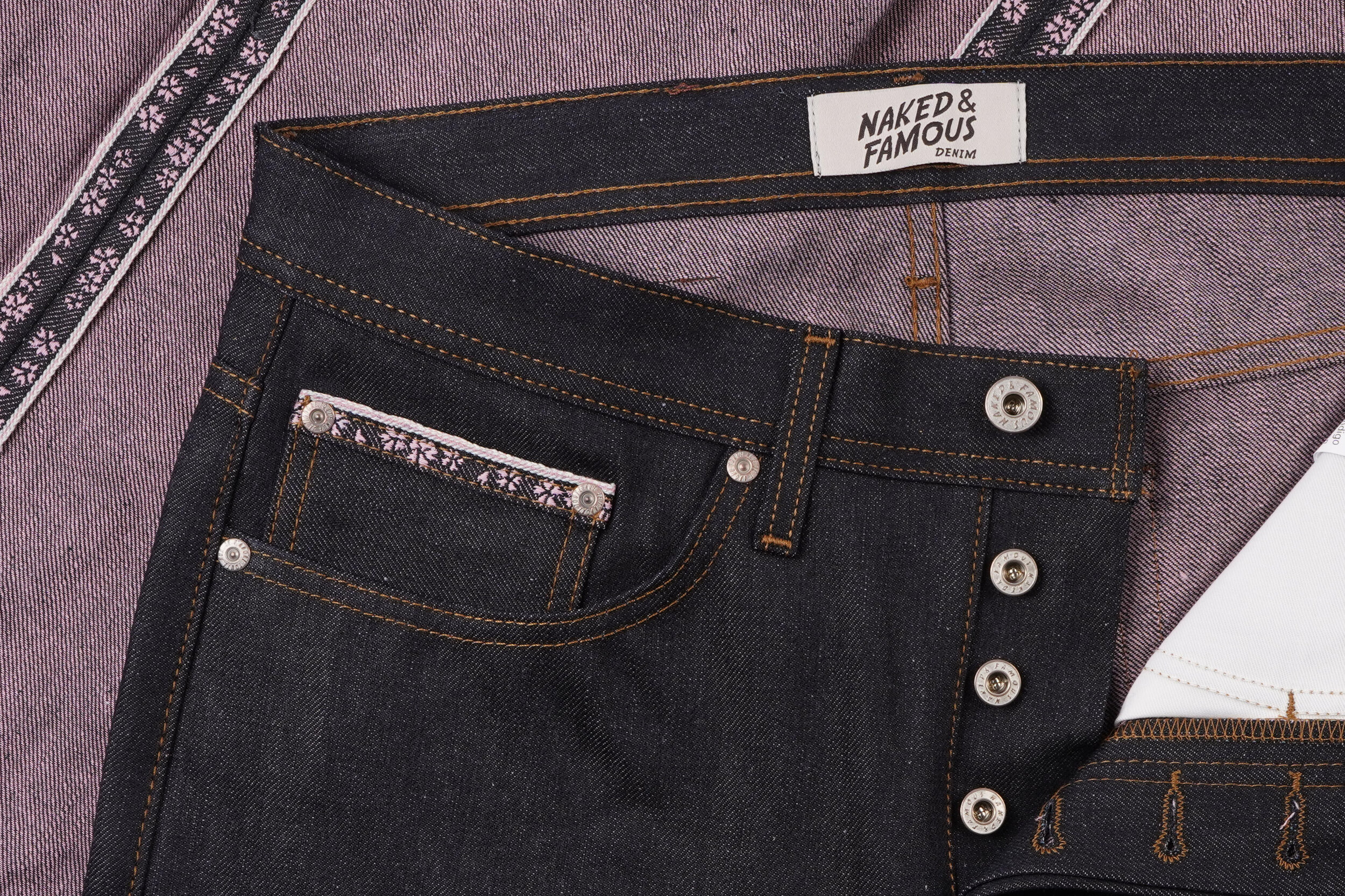 Hanami Selvedge - Coin Pocket