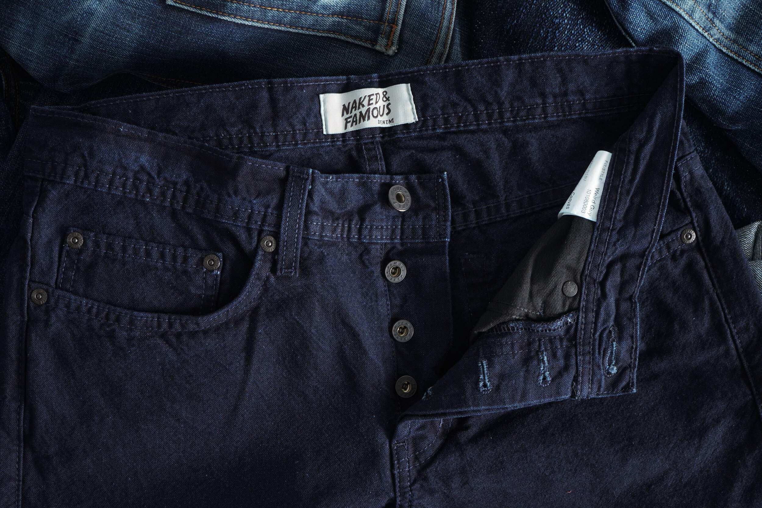 Indigo Tradition Canvas - Hardware