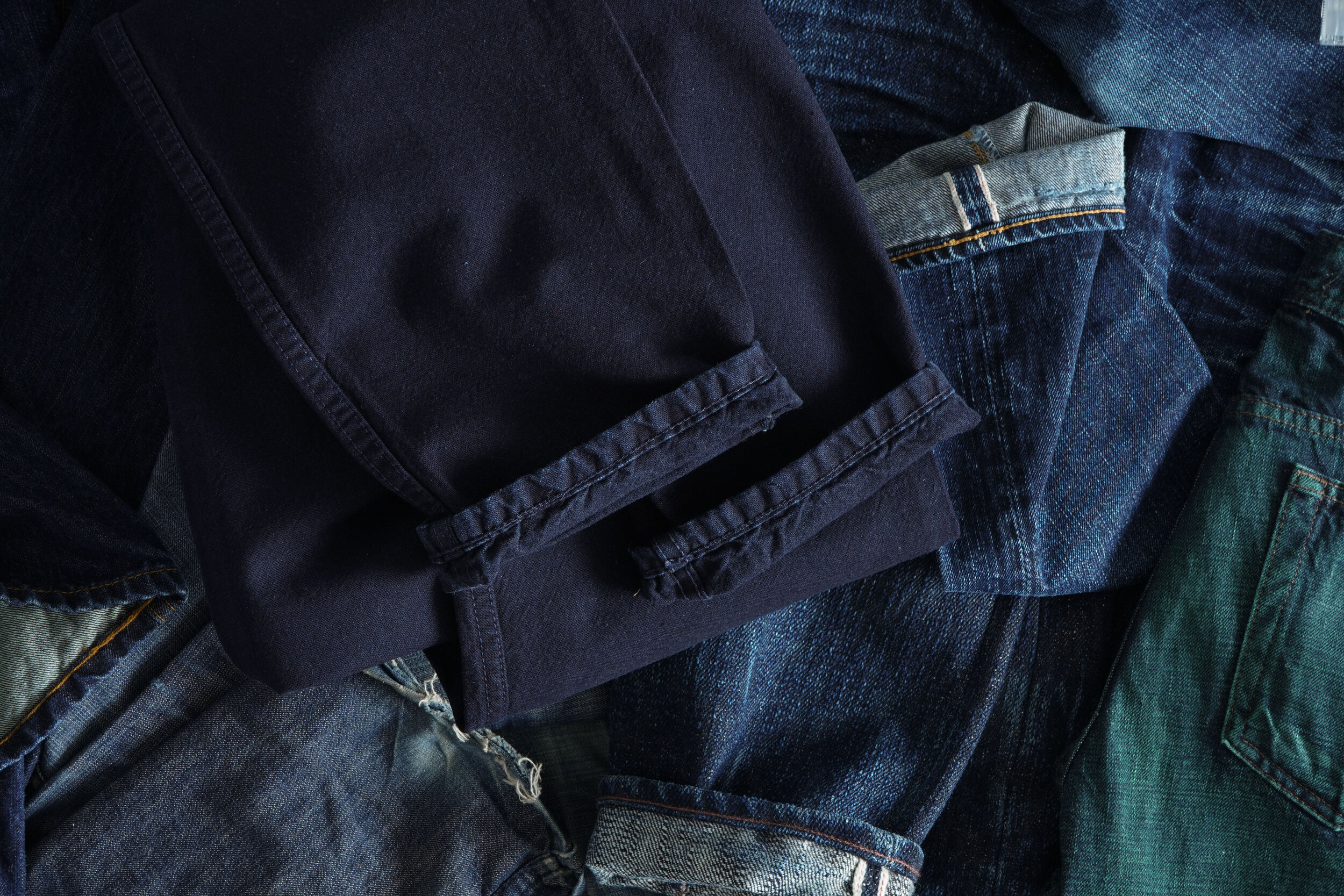 Indigo Tradition Canvas - Cuff