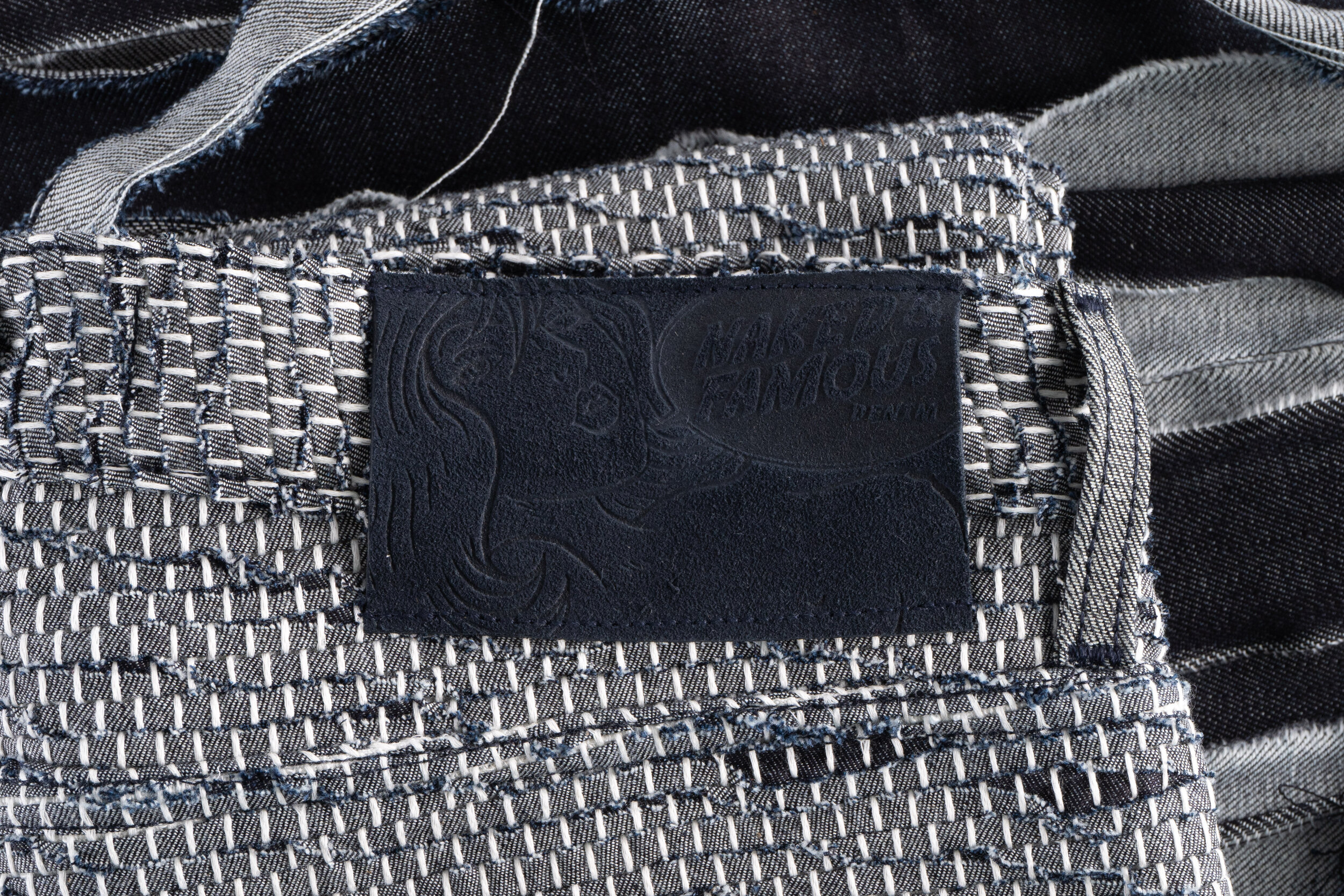 Sakiori Denim - Leather Patch