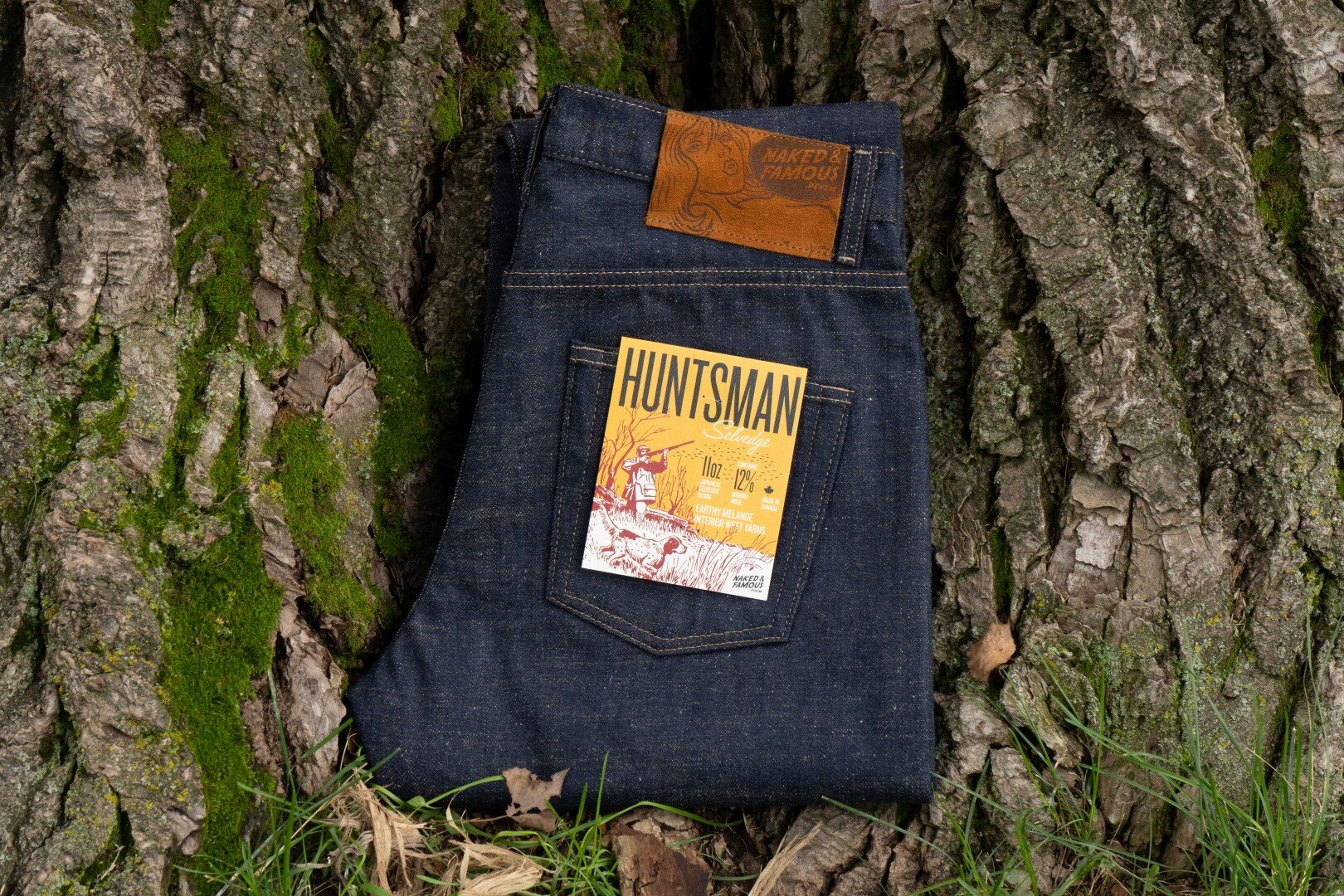Huntsman Selvedge - Folded Flat