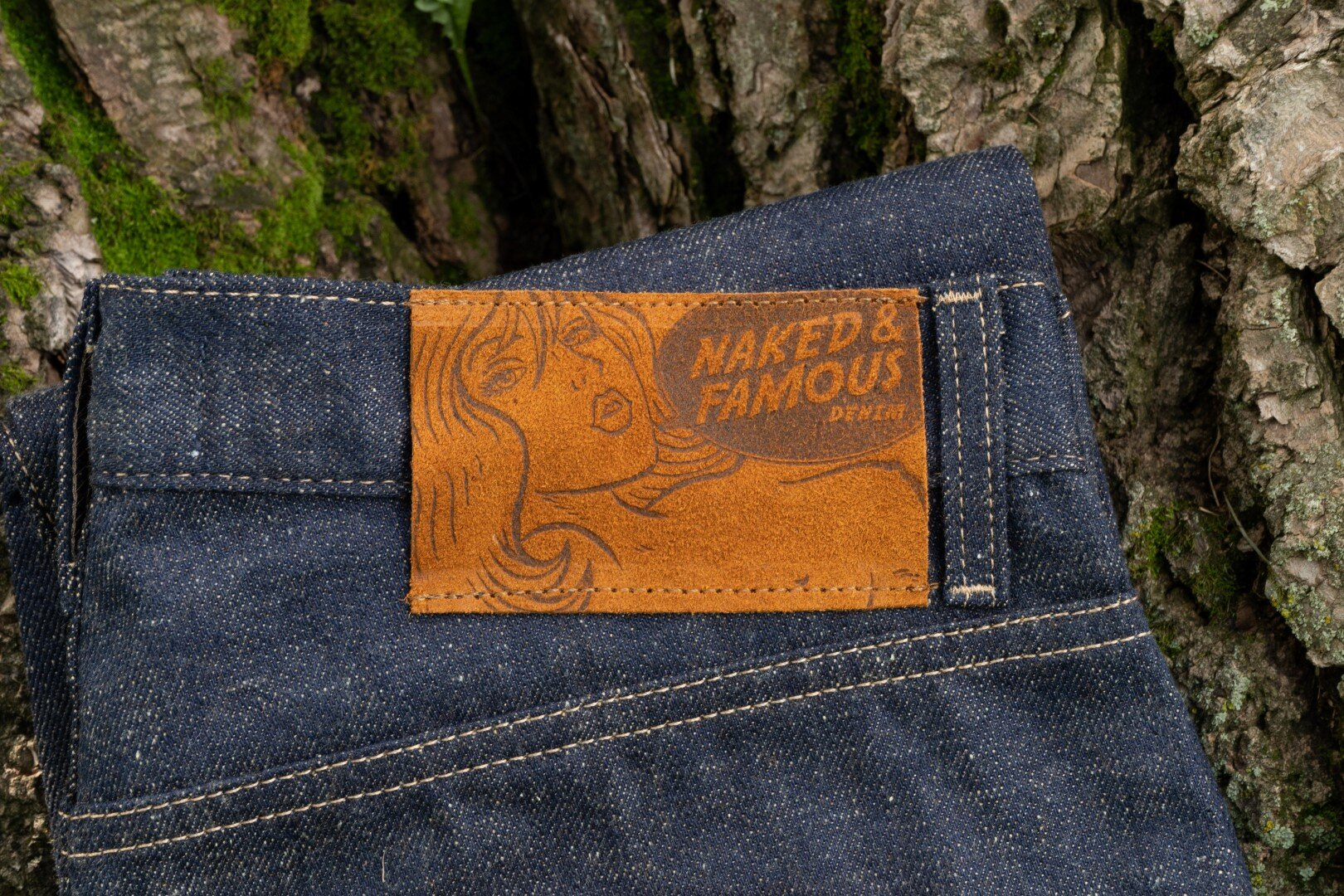 Huntsman Selvedge - Leather Patch