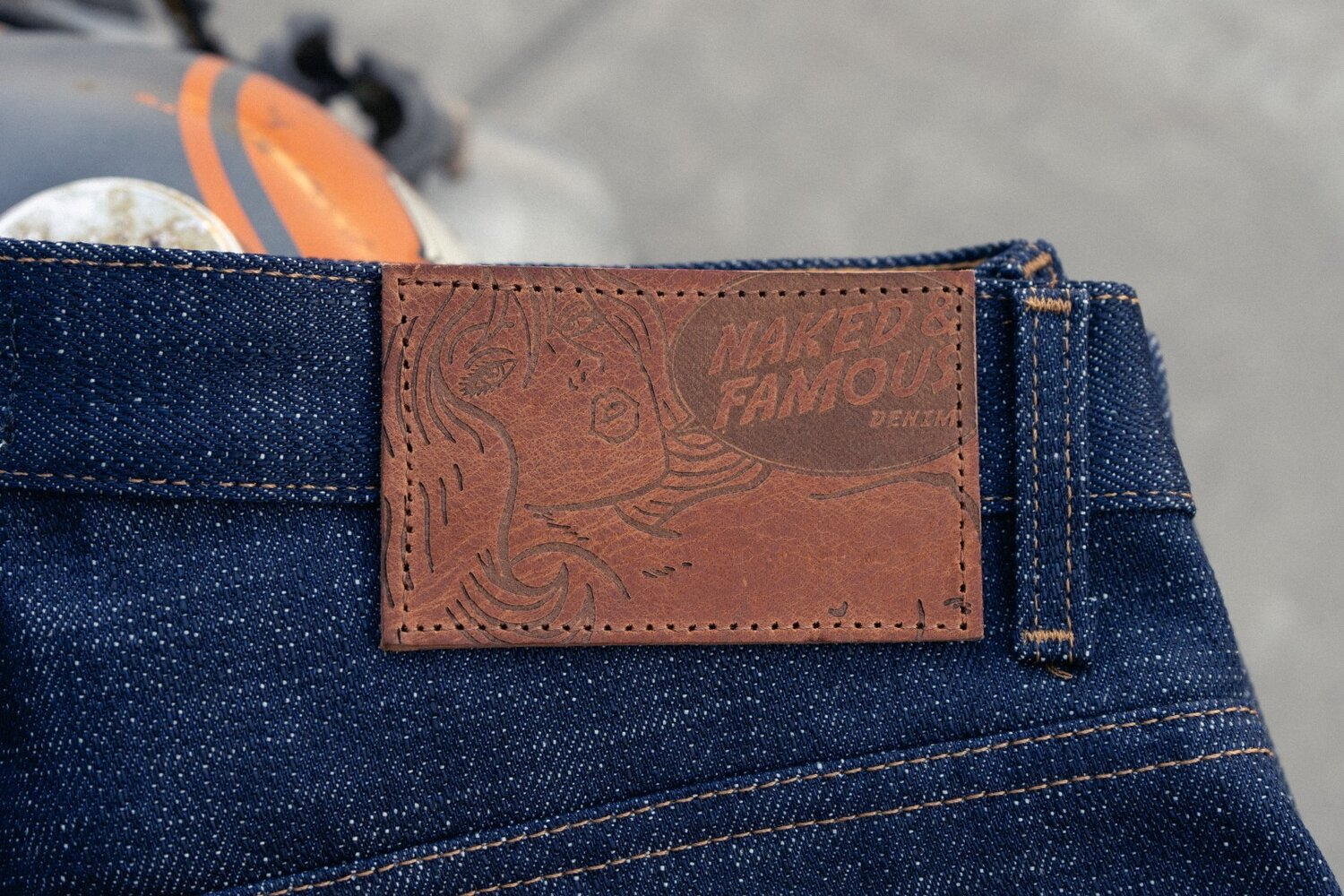 Elephant 9 - Leather Patch