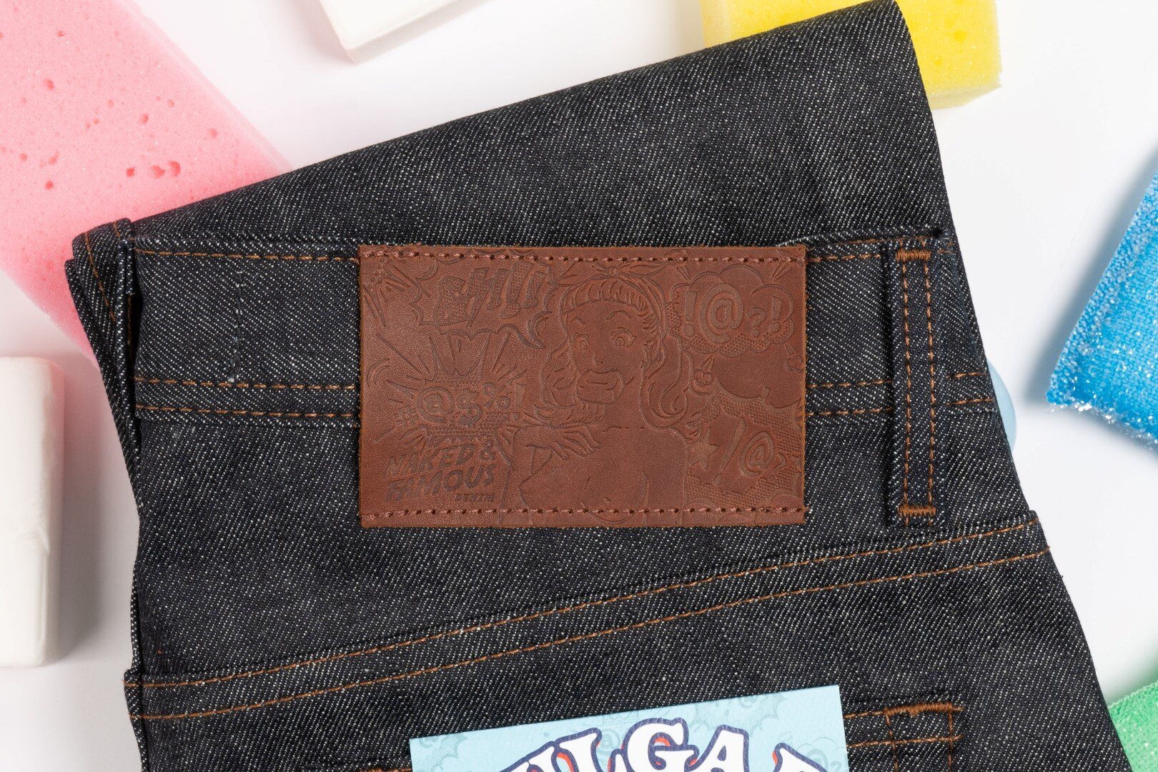 Vulgar Selvedge 2 - Leather Patch