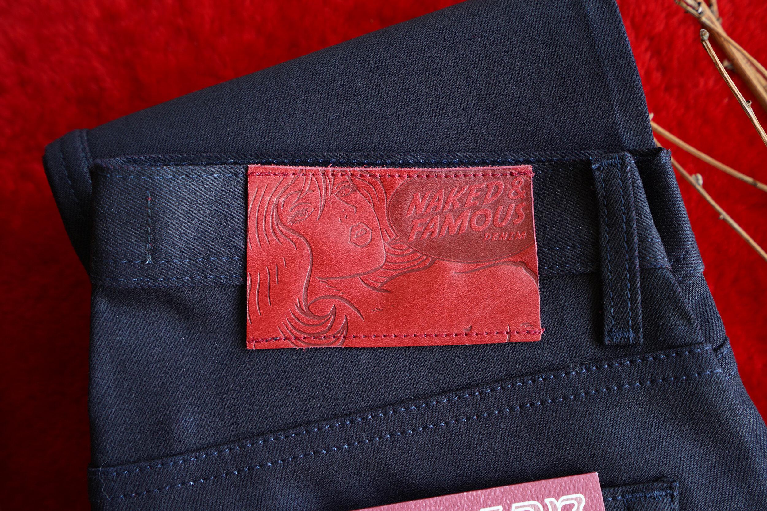 Crimson Sky - Leather Patch