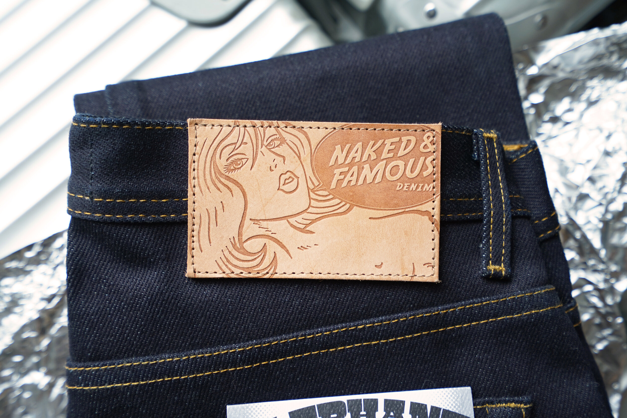 Elephant X - Leather Patch