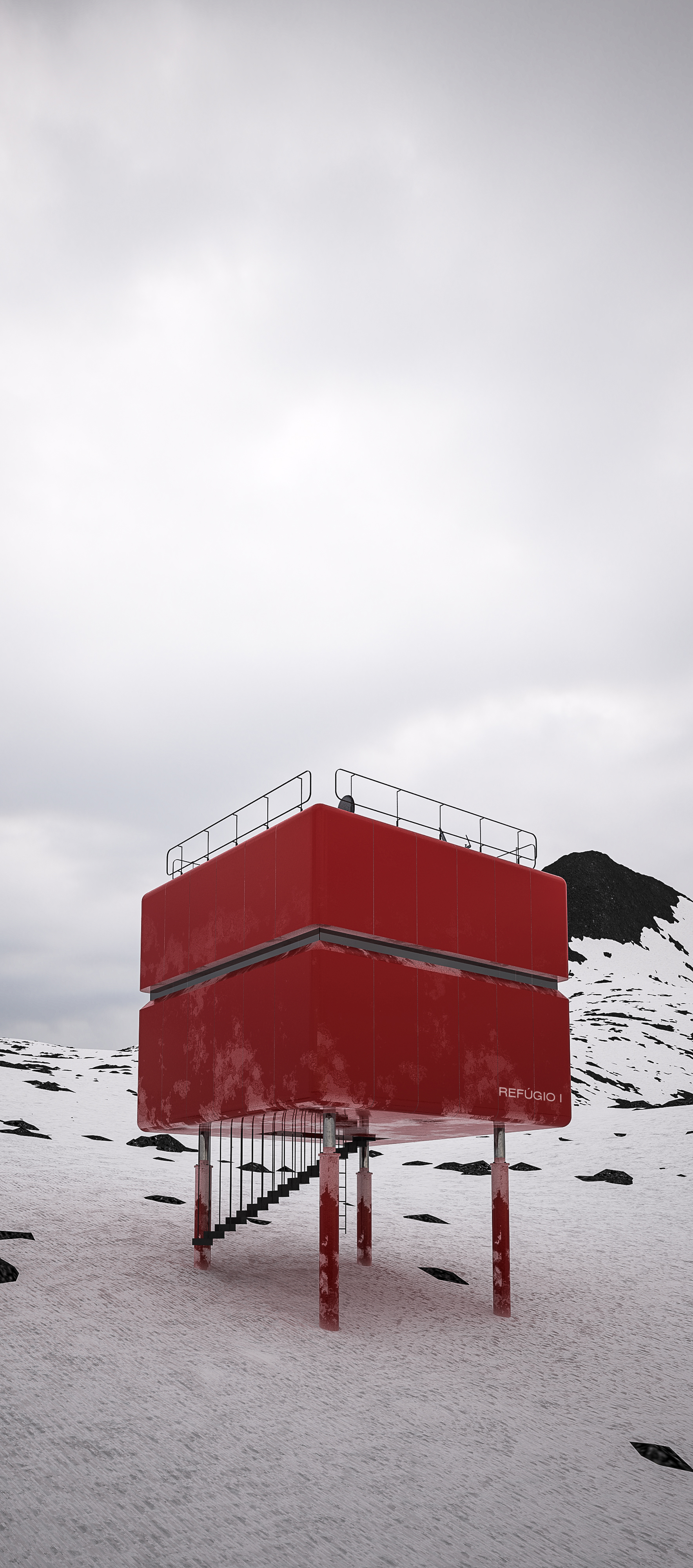 Comandante Ferraz  Brazilian Research Base , Keller Peninsula, Antarctica   learn more →