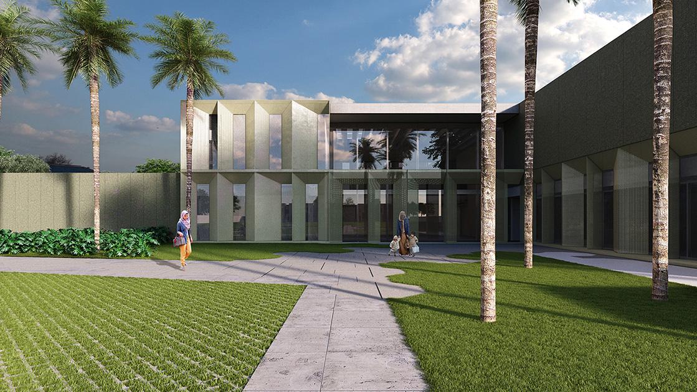 Ambassador House, Kuwait Embassy,  Brasilia