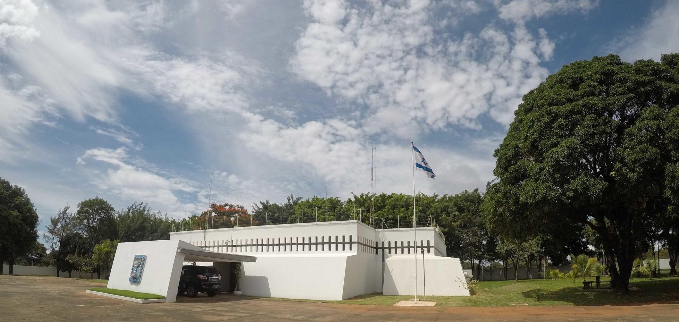 Israeli Embassy in Brasilia →