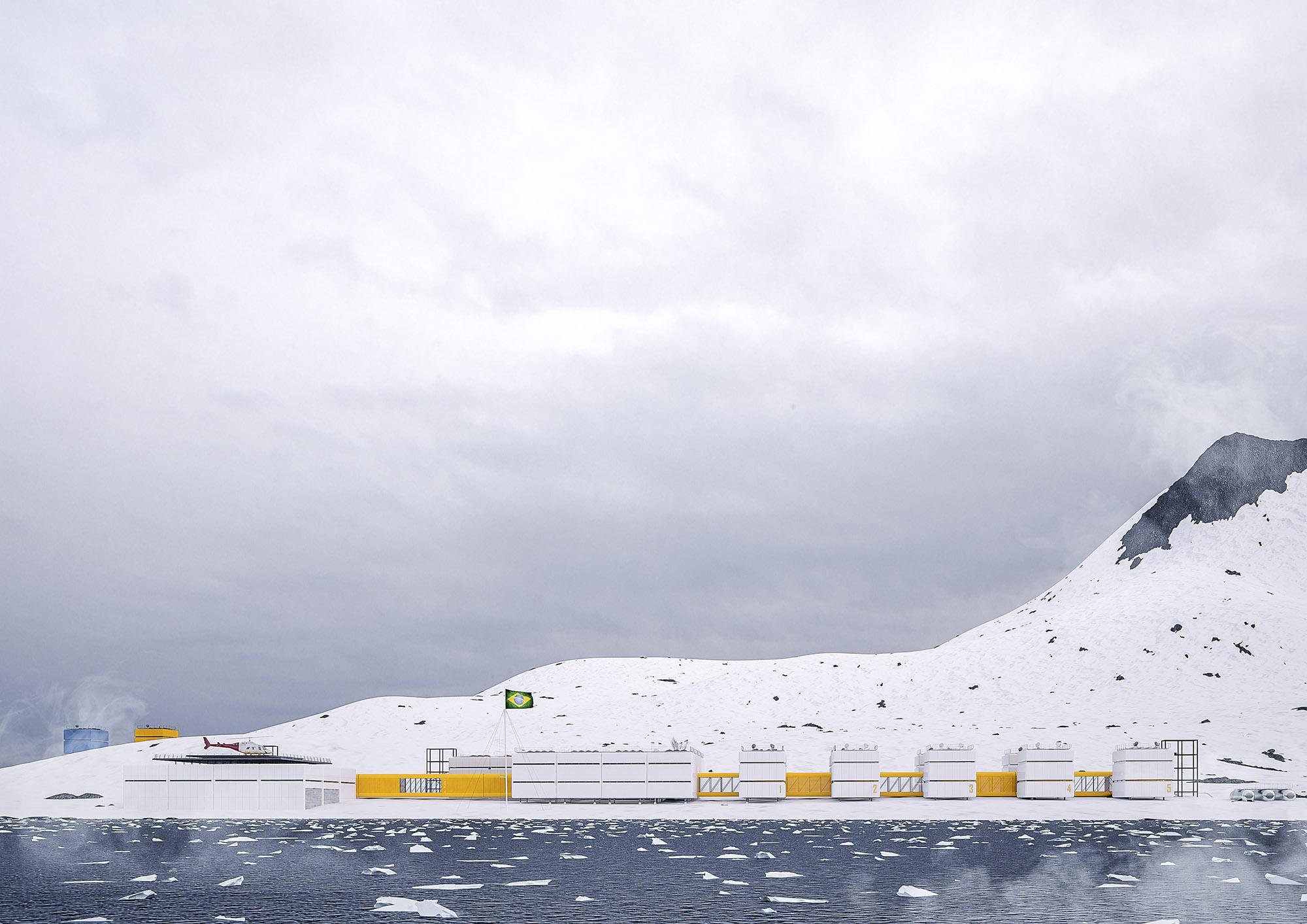 Brazilian Research Base in Antarctica