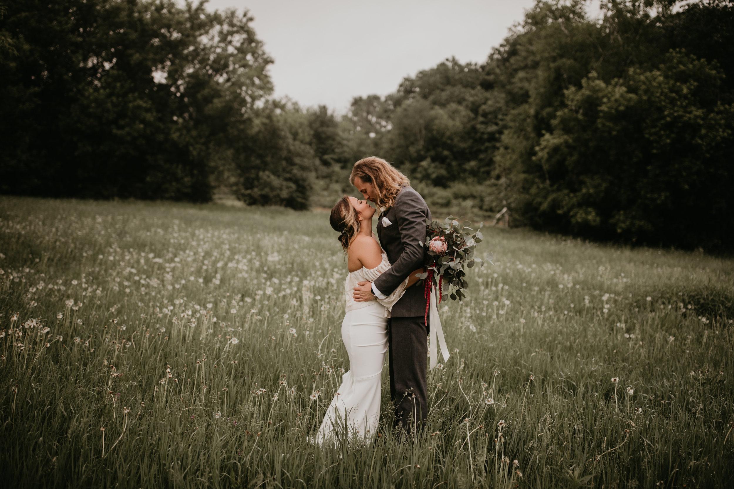BOHO WEDDING AT BIRCH HILL BARN