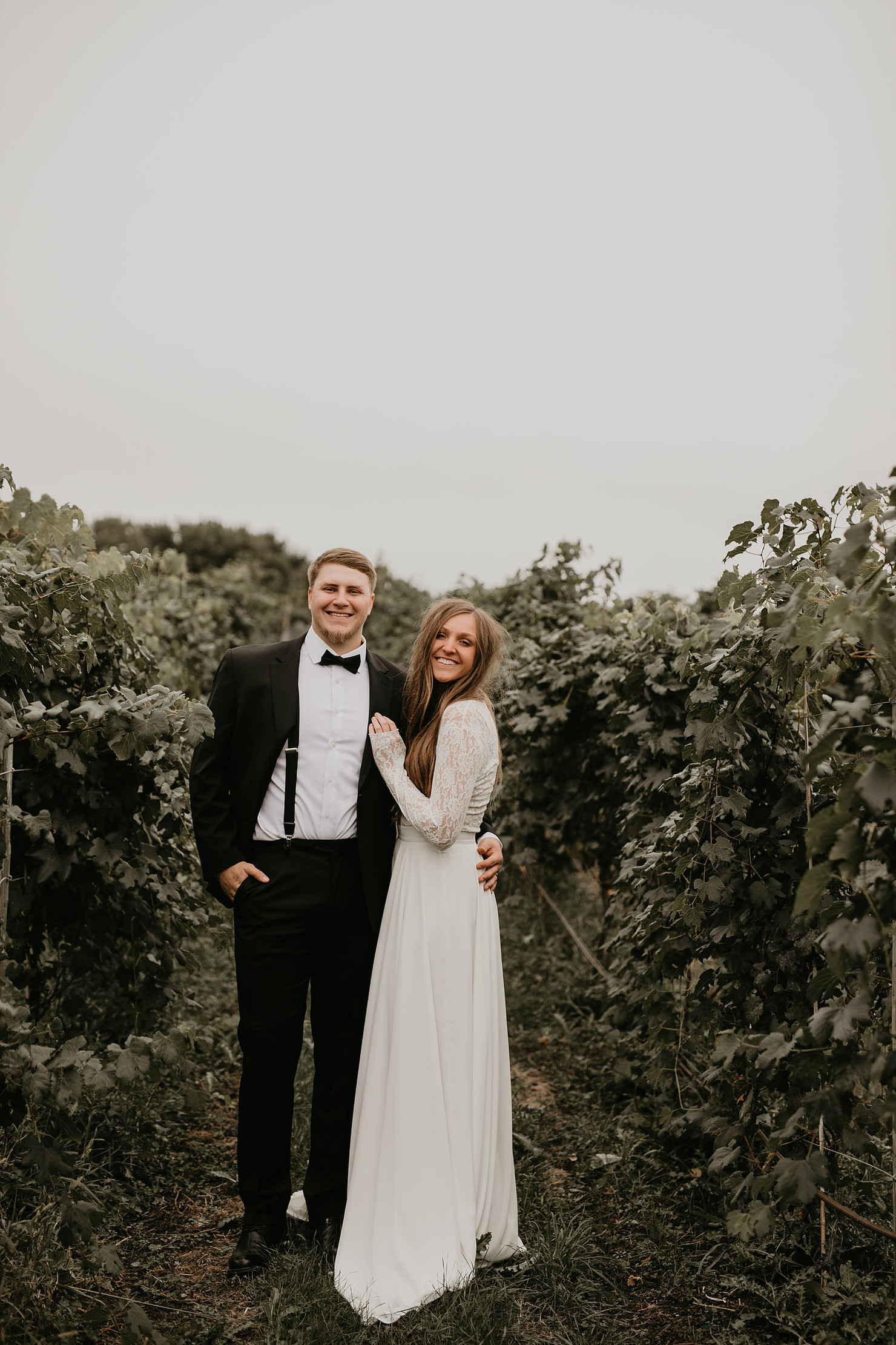 Maclane & Bryce Married 9/29/18 at Round Lake Winery | Photography by    Sophisticated Grace